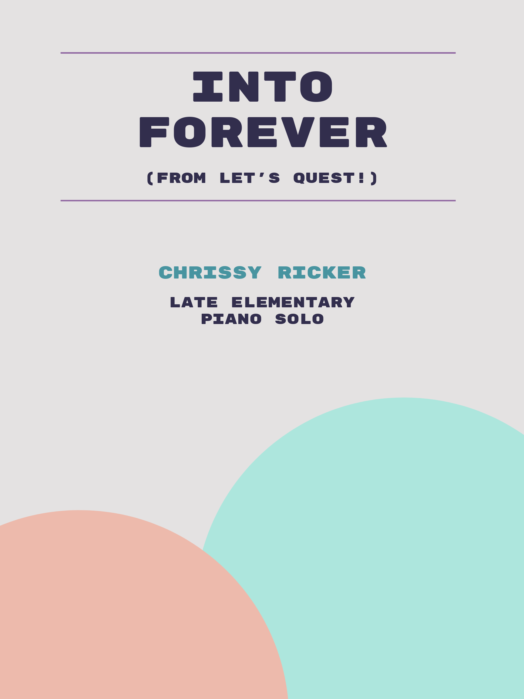 Into Forever by Chrissy Ricker