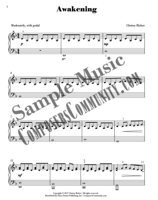 Awakening Sample Page