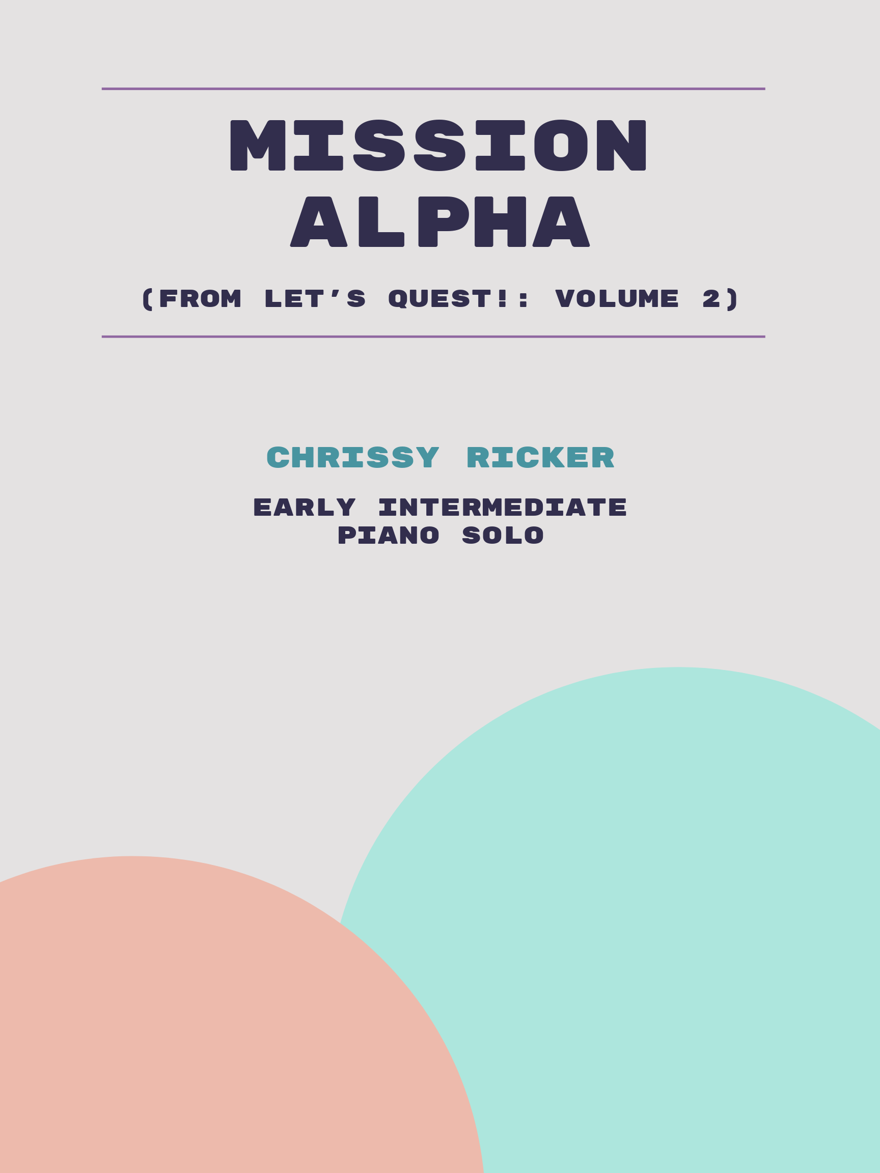 Mission Alpha by Chrissy Ricker