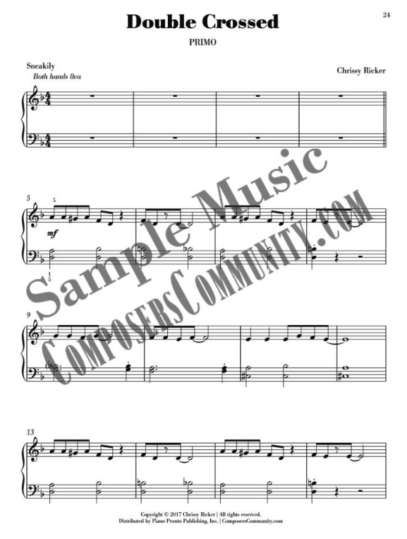 Double Crossed Sample Page