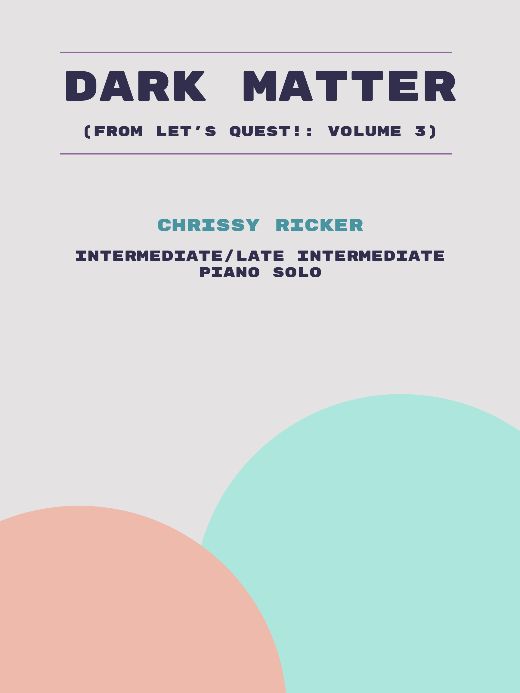 Dark Matter by Chrissy Ricker
