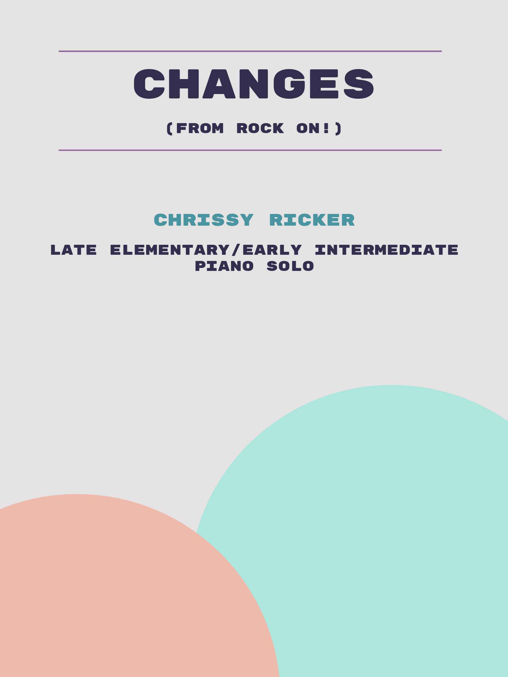Changes by Chrissy Ricker
