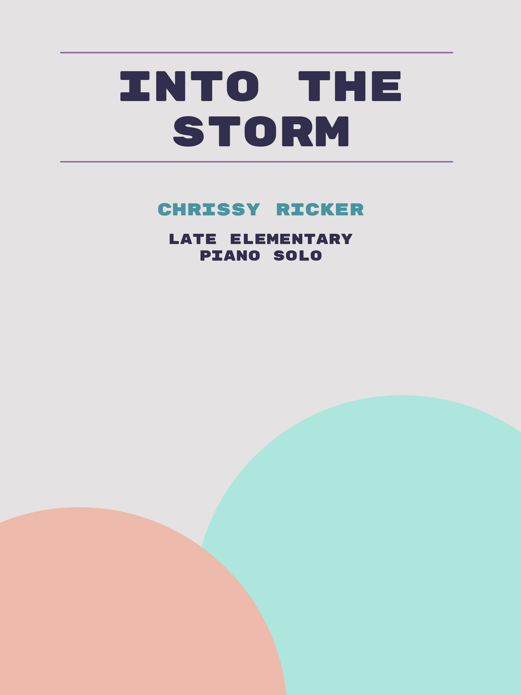 Into the Storm by Chrissy Ricker