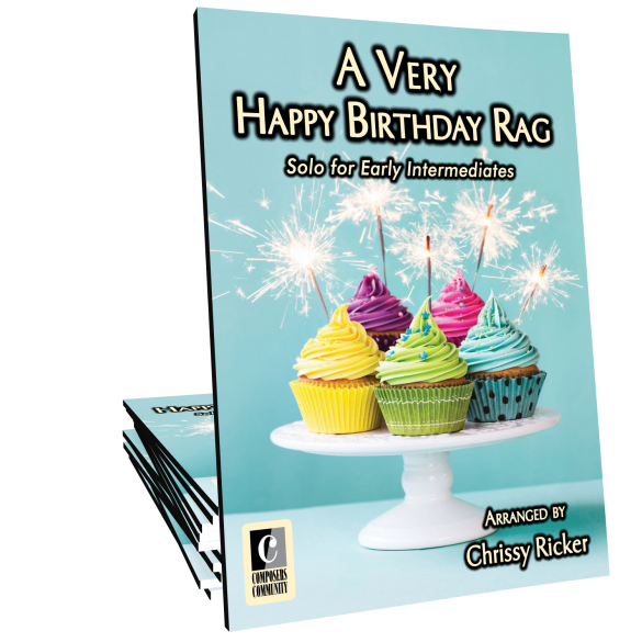 A Very Happy Birthday Rag Sample Page