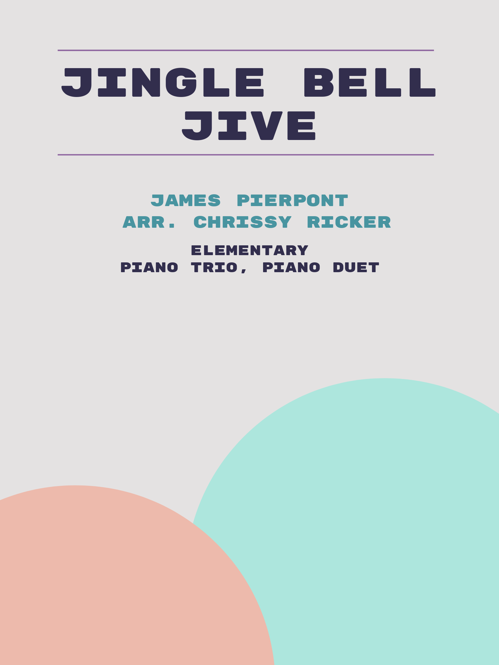 Jingle Bell Jive by James Pierpont