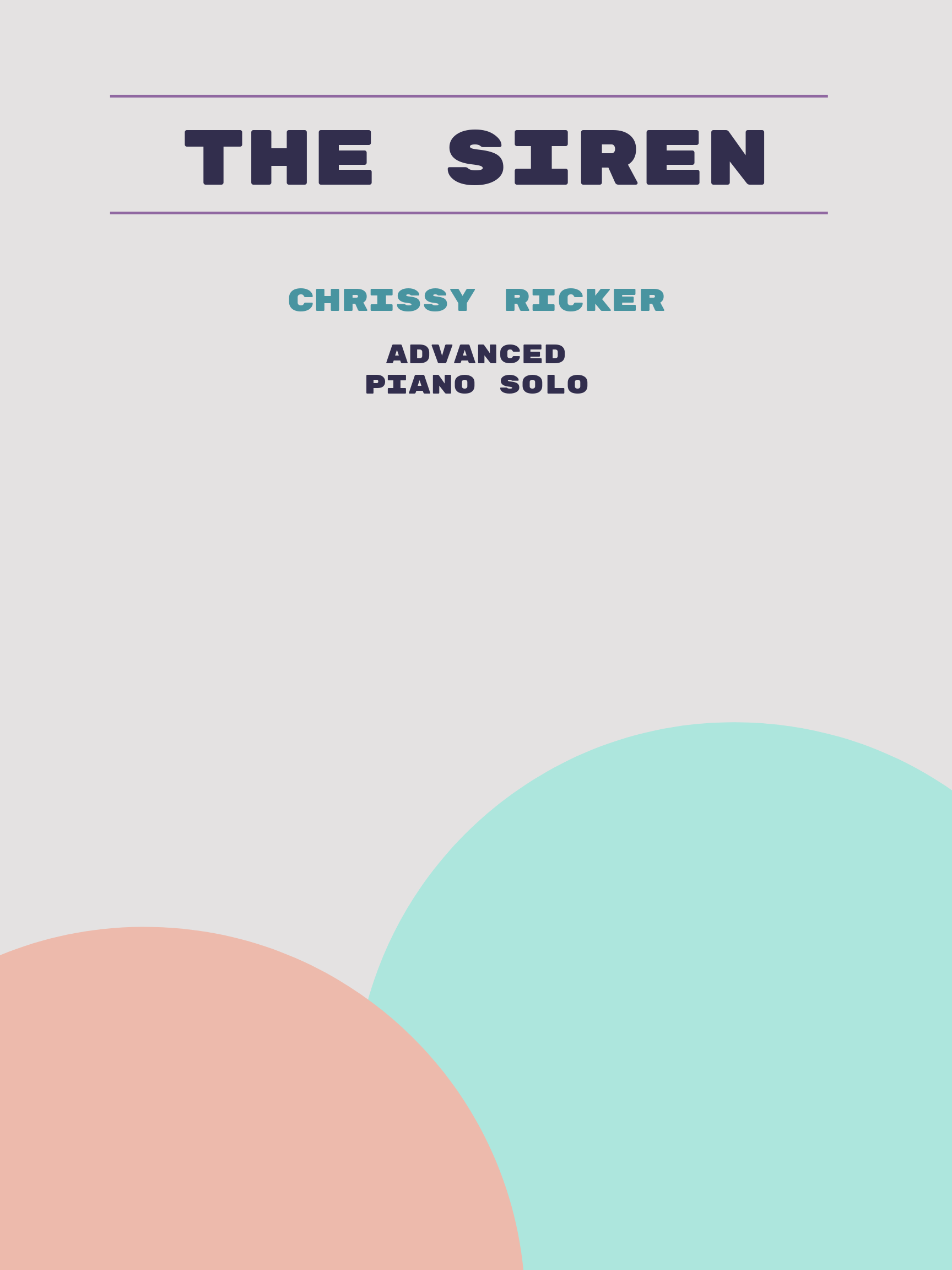The Siren by Chrissy Ricker