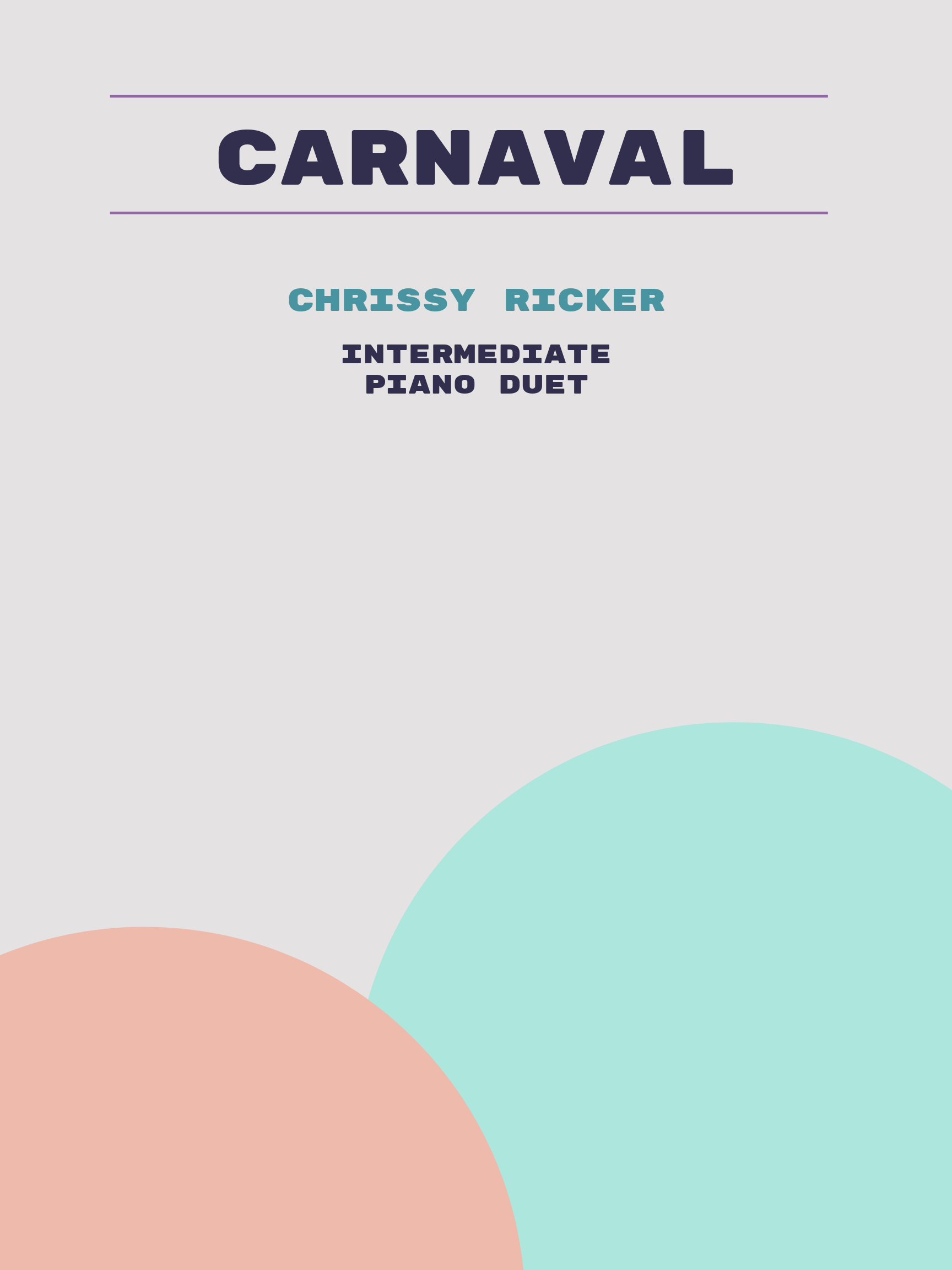 Carnaval by Chrissy Ricker