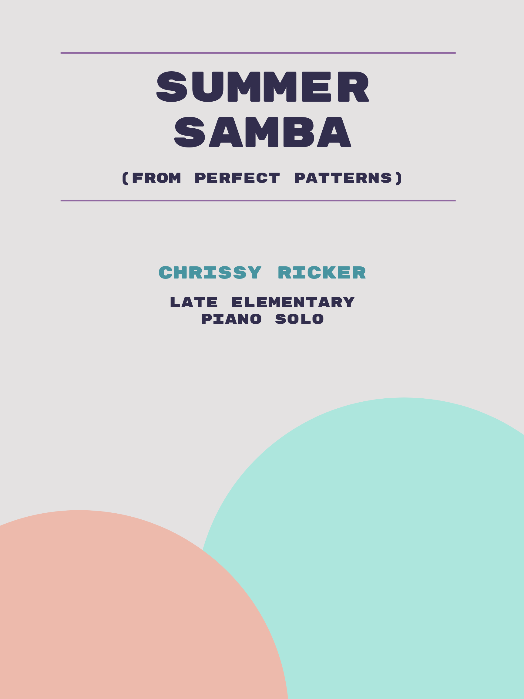 Summer Samba by Chrissy Ricker