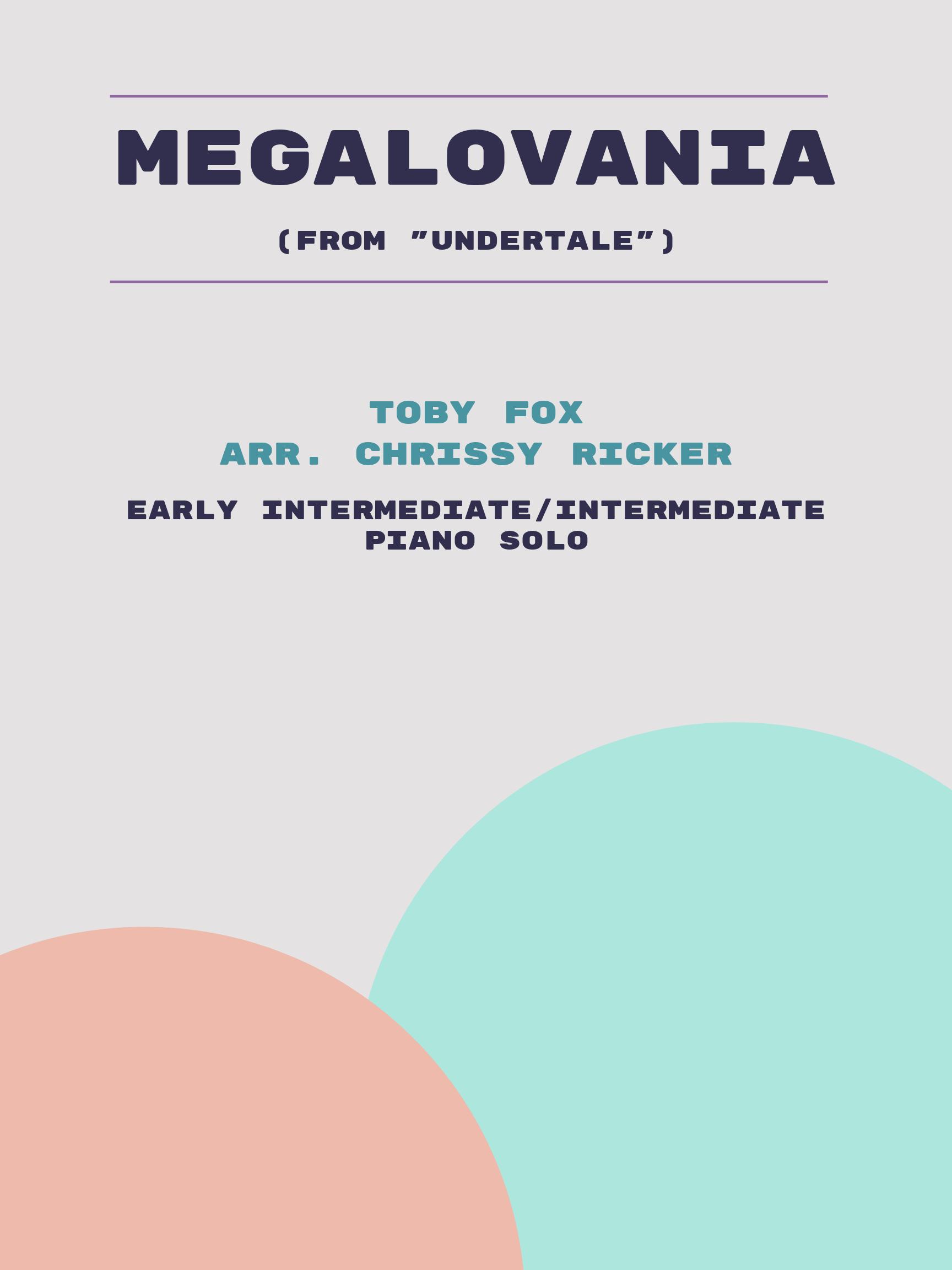 Megalovania by Toby Fox