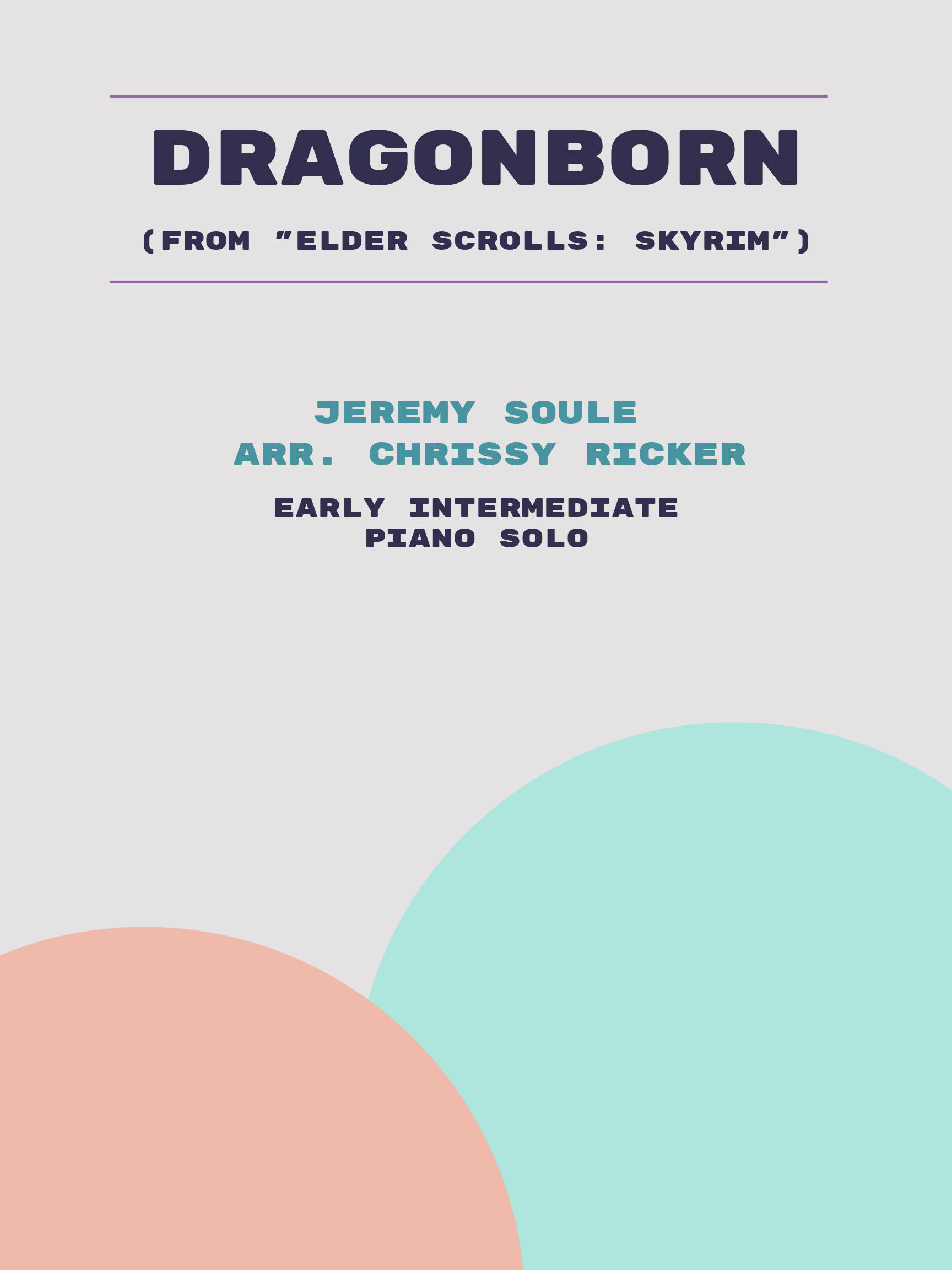 Dragonborn by Jeremy Soule