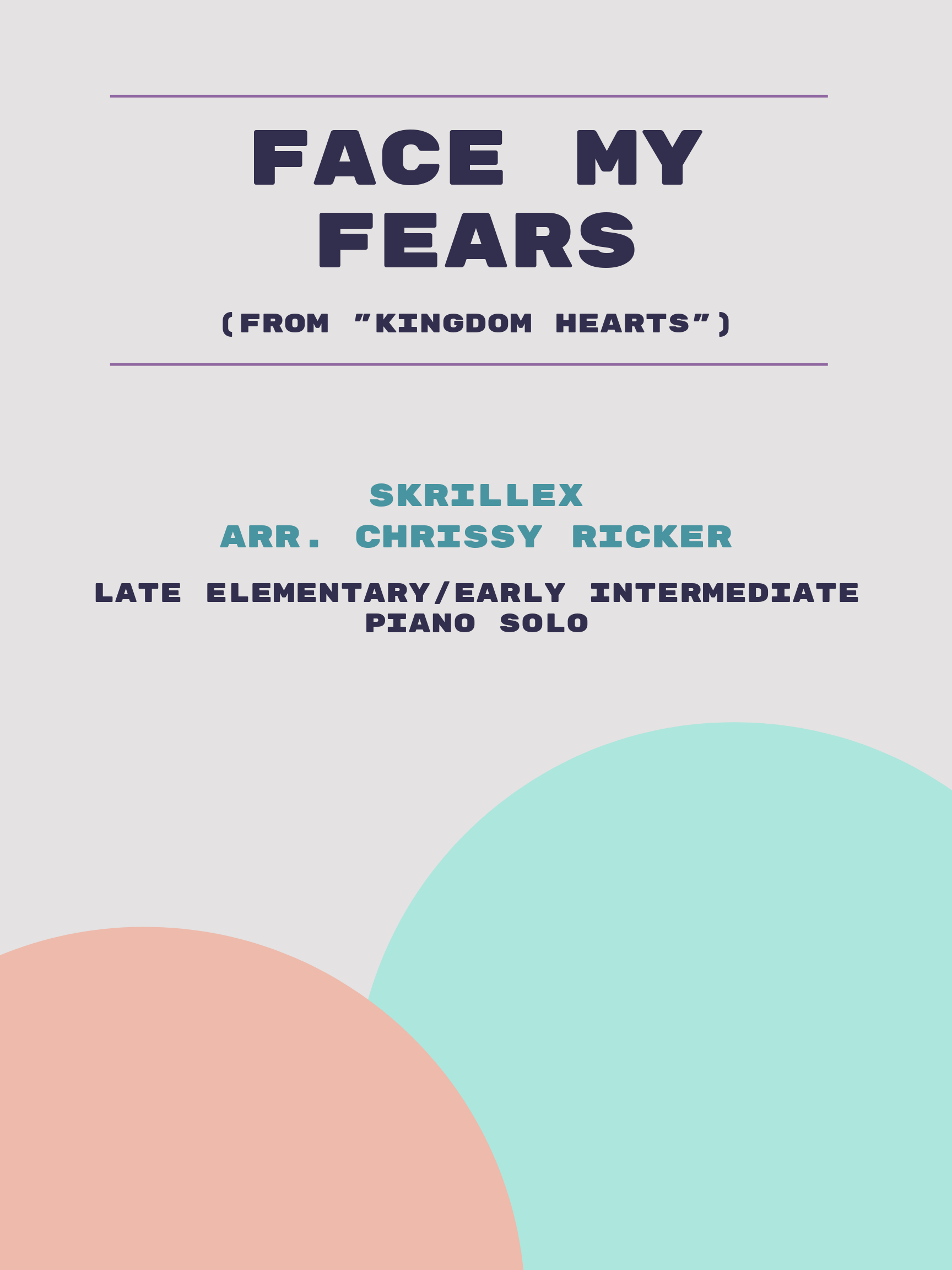 Face My Fears by Skrillex