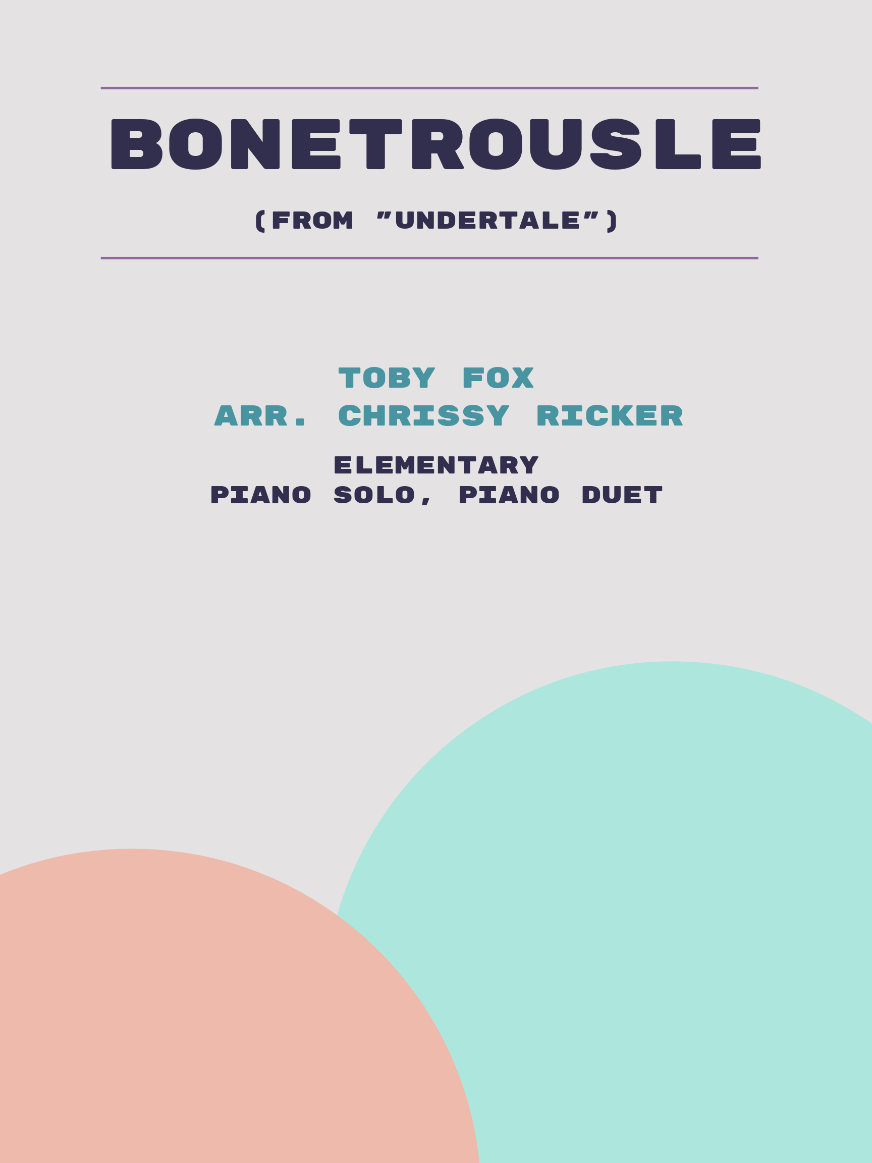 Bonetrousle by Toby Fox