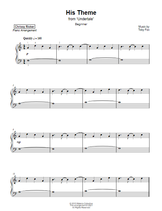His Theme Sample Page