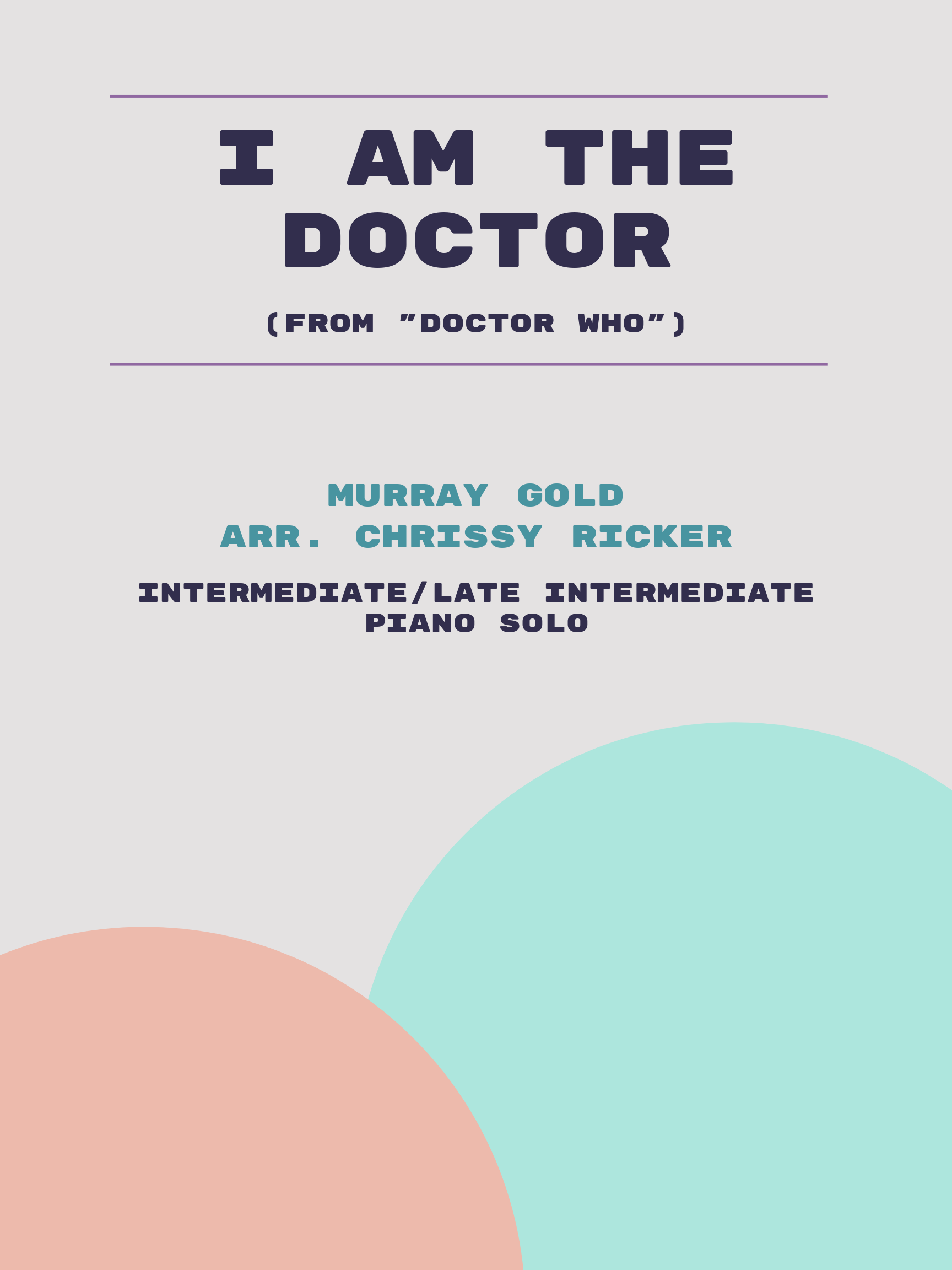 I Am the Doctor by Murray Gold