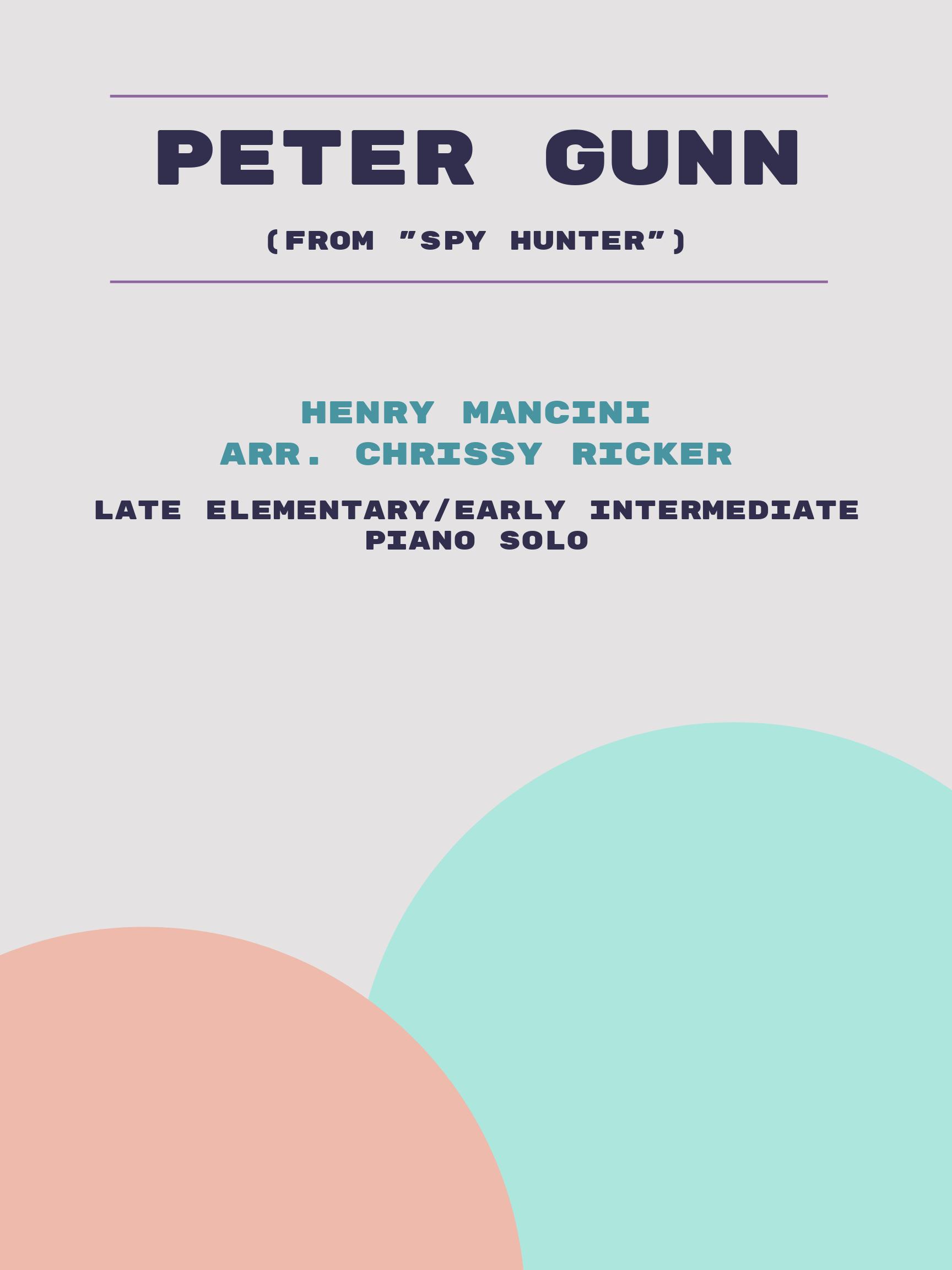 Peter Gunn by Henry Mancini