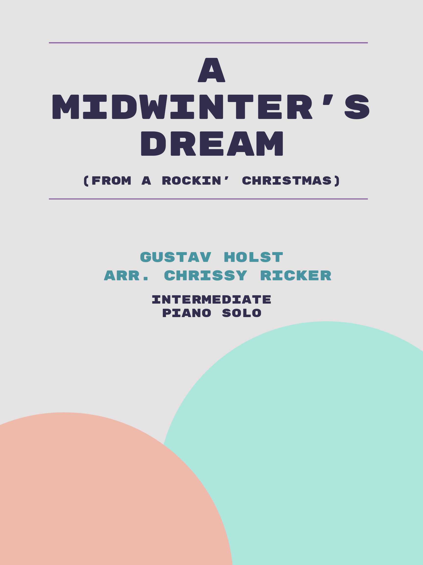 A Midwinter's Dream by Gustav Holst