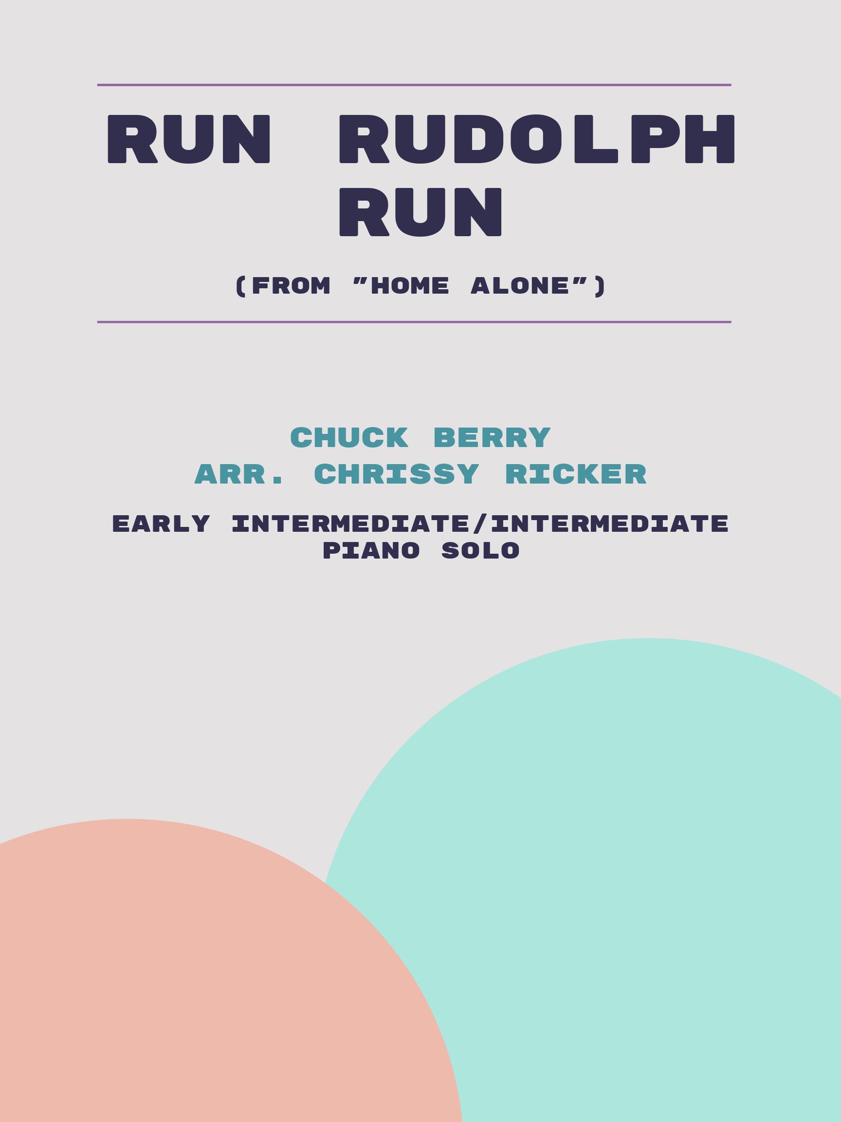 Run Rudolph Run by Chuck Berry
