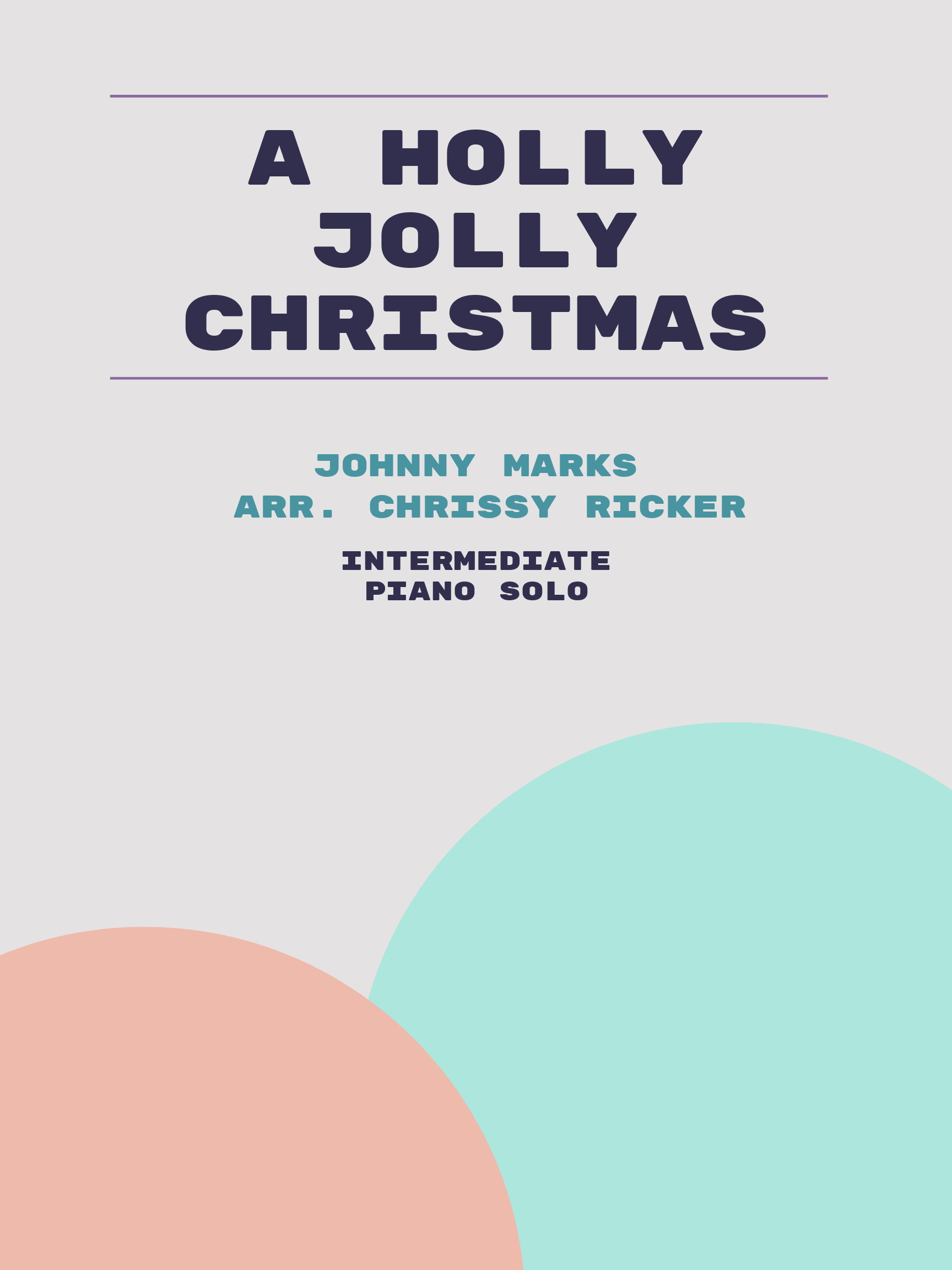 A Holly Jolly Christmas Sample Page