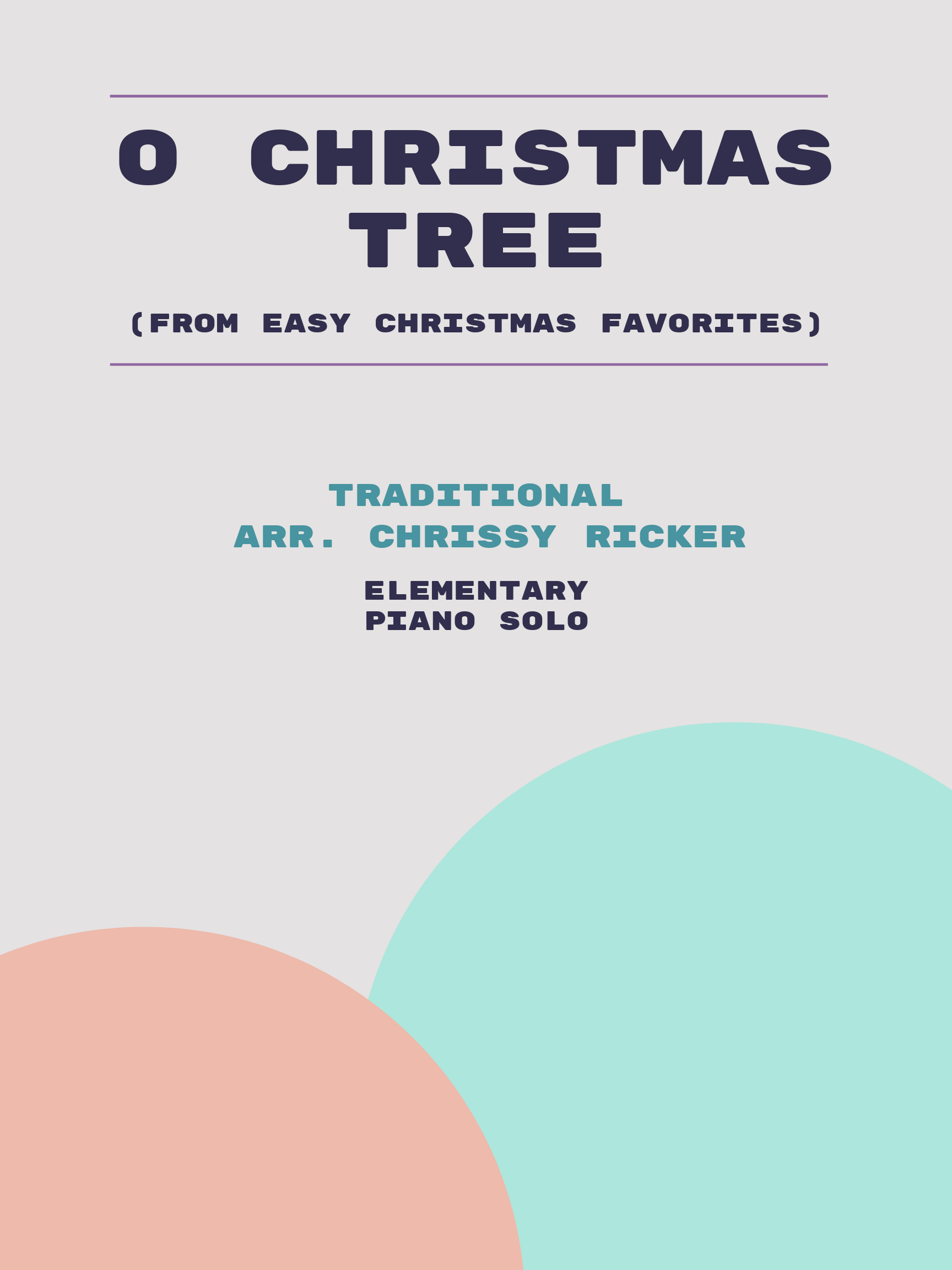 O Christmas Tree by Traditional