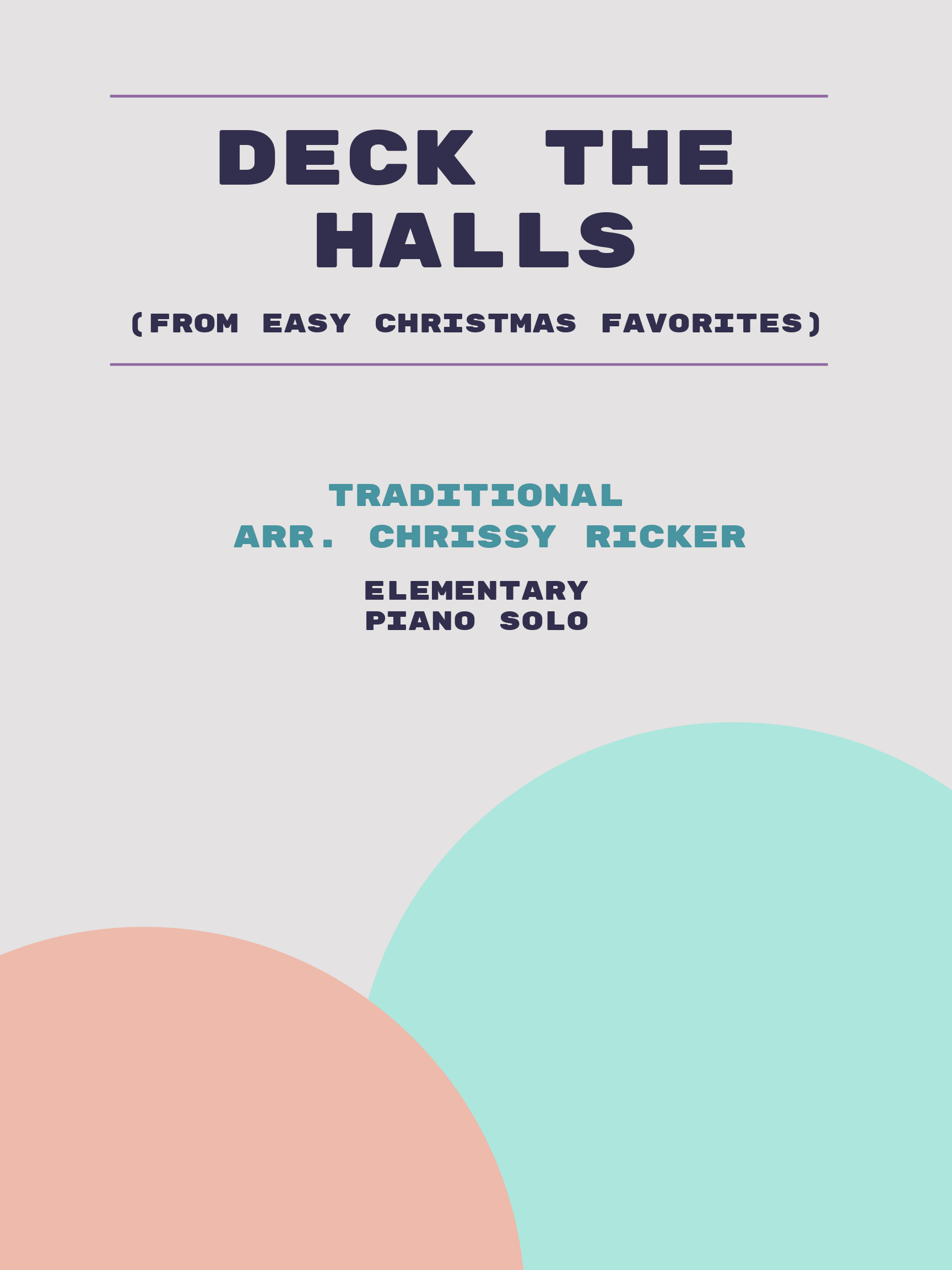 Deck the Halls by Traditional