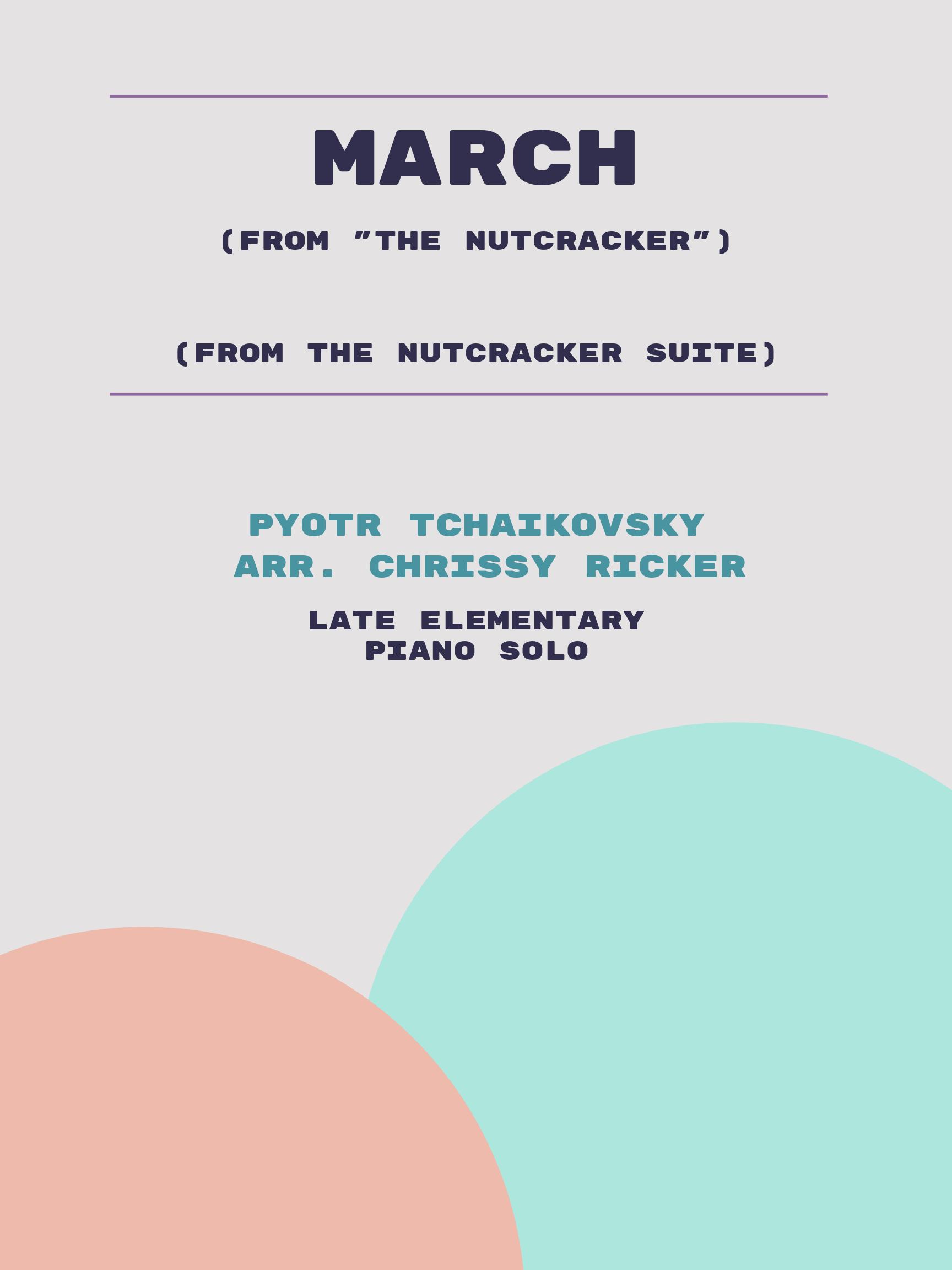 March by Pyotr Tchaikovsky