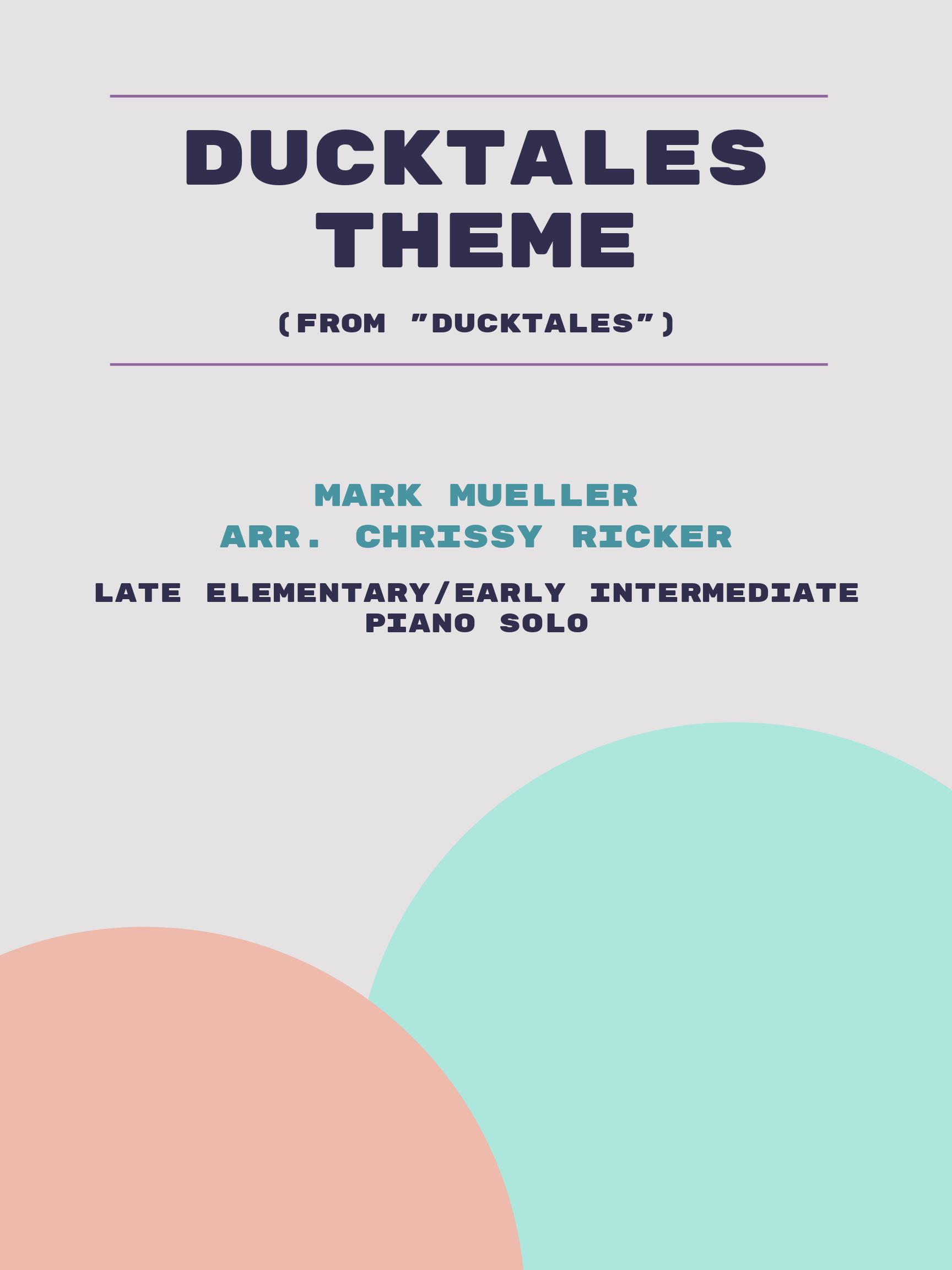 DuckTales Theme by Mark Mueller