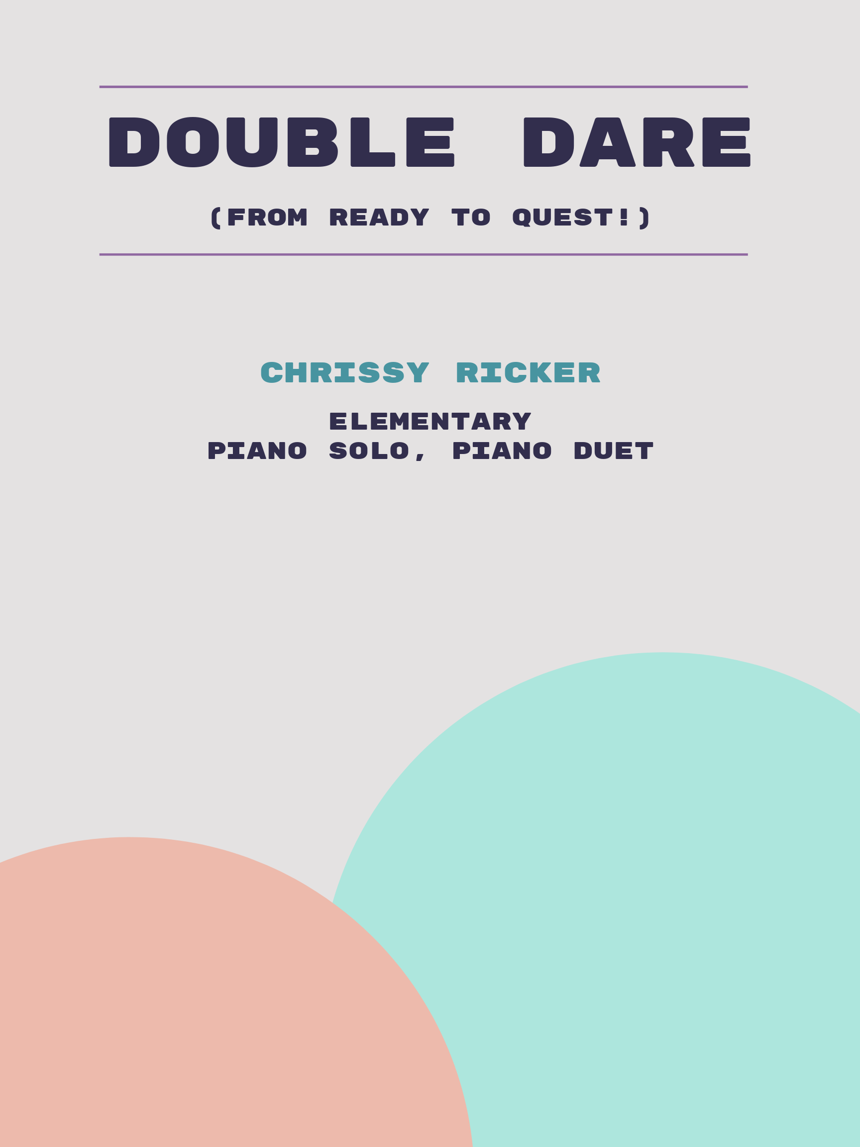 Double Dare by Chrissy Ricker