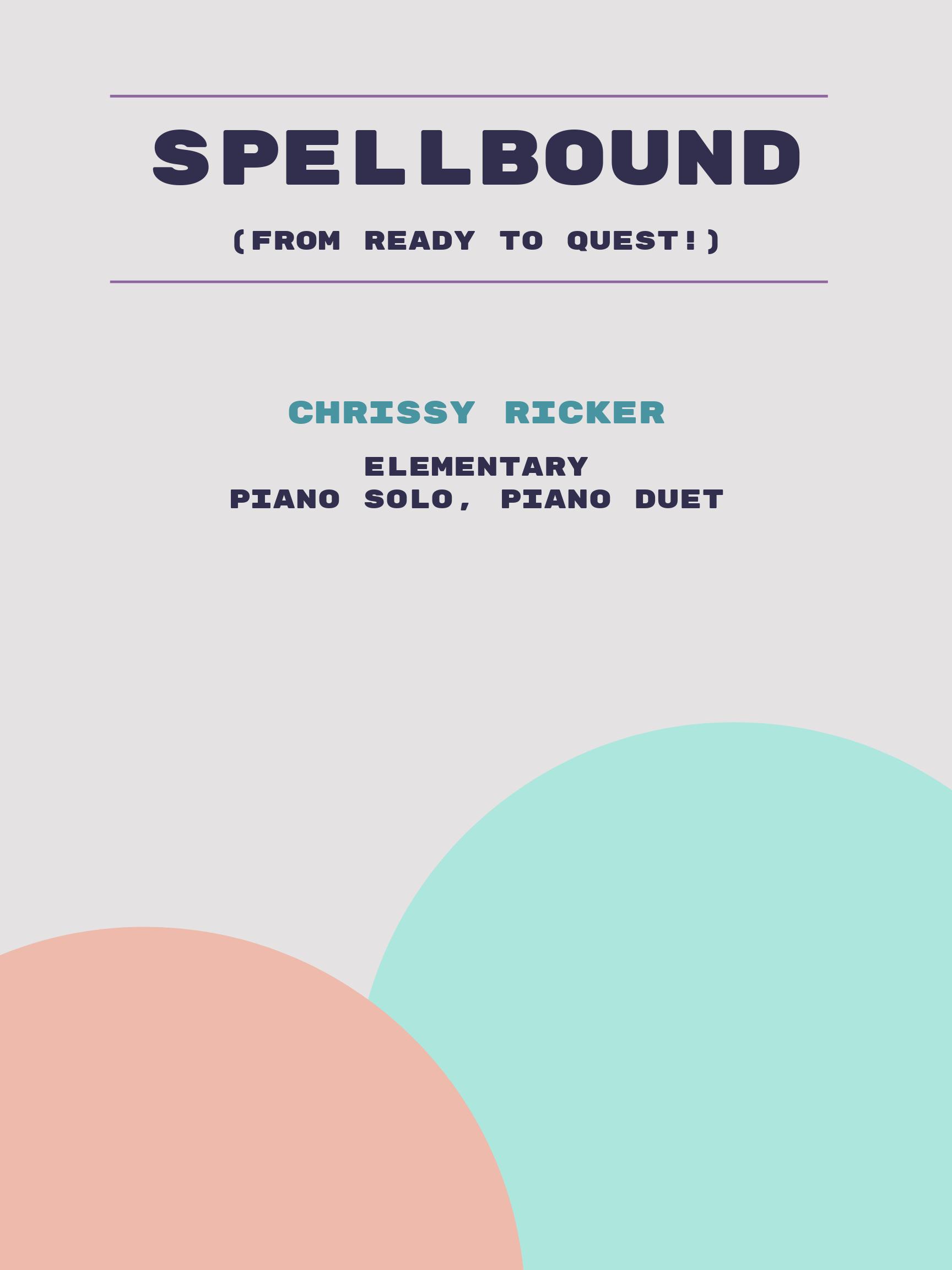 Spellbound by Chrissy Ricker