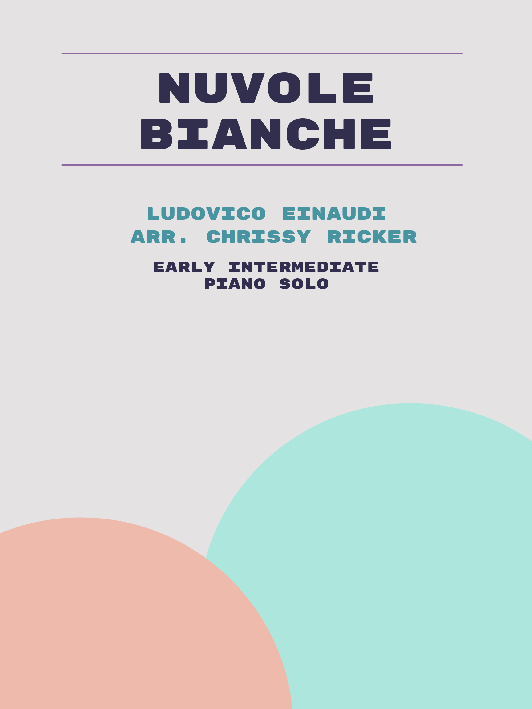 Nuvole Bianche by Ludovico Einaudi