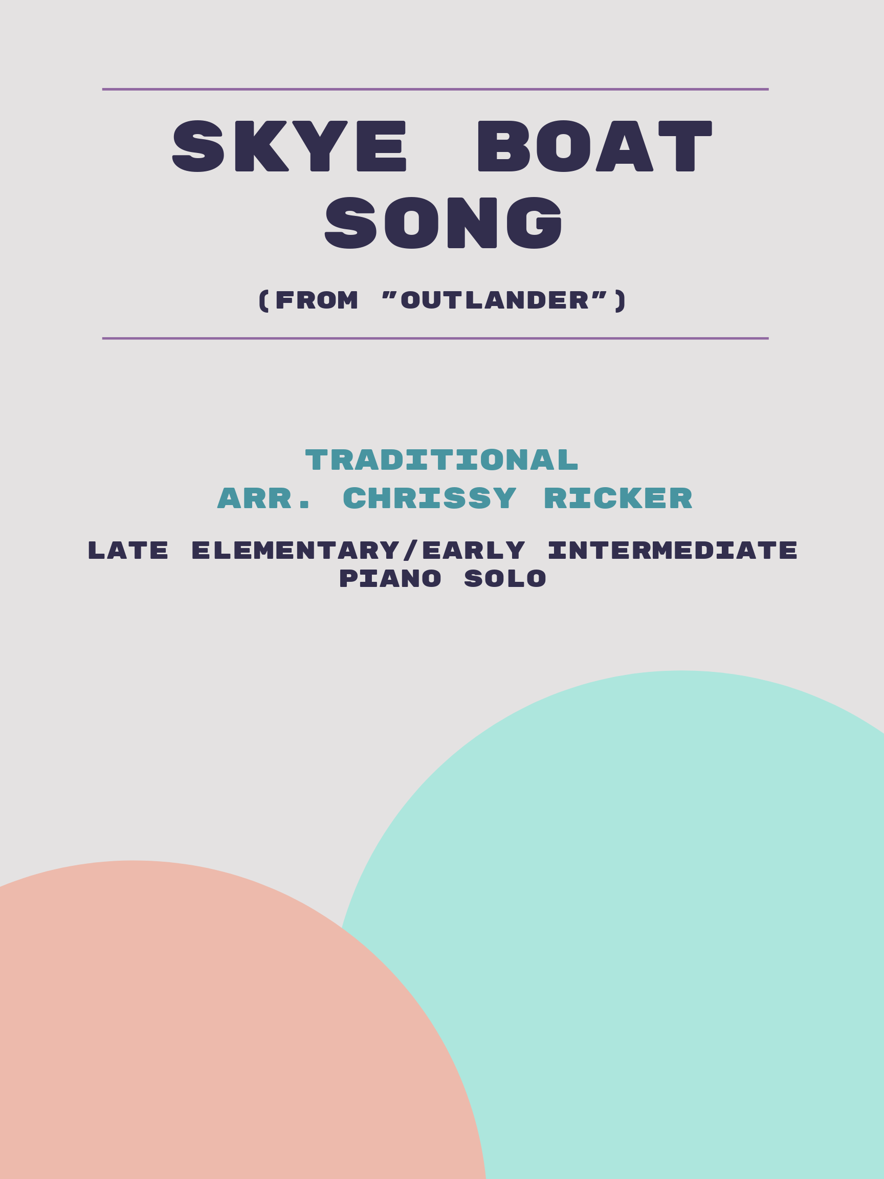 Skye Boat Song by Traditional