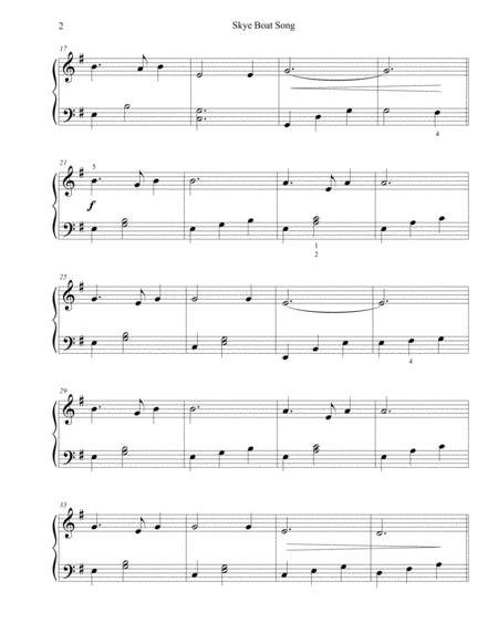 Skye Boat Song Sample Page