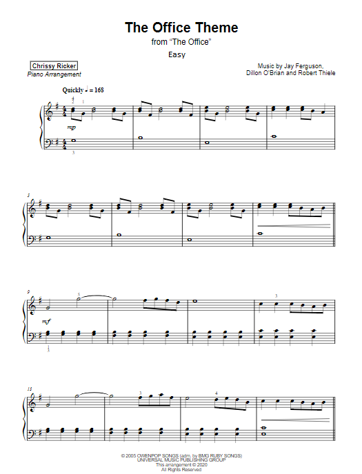 """Theme from """"The Office"""" Sample Page"""