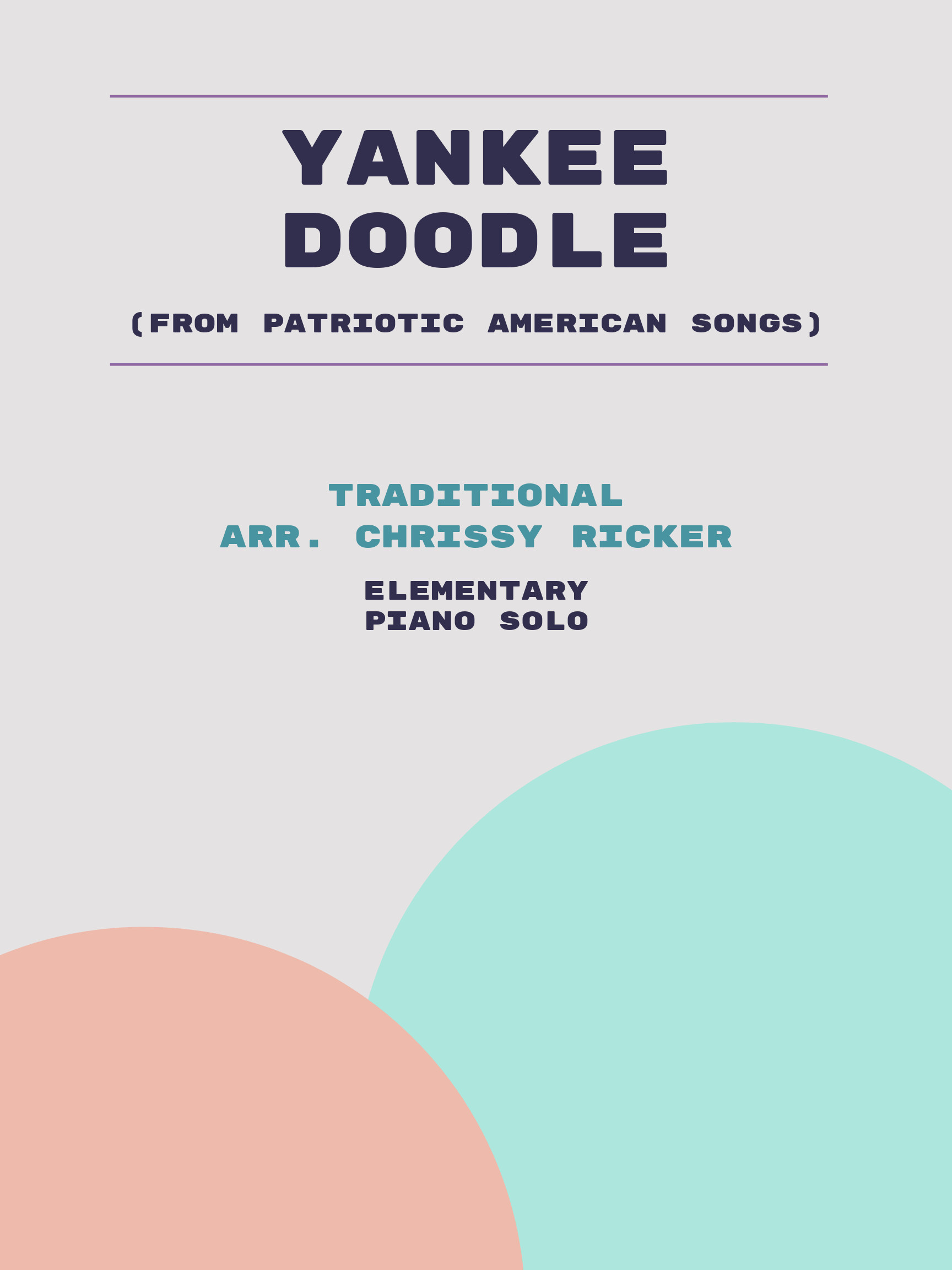 Yankee Doodle by Traditional