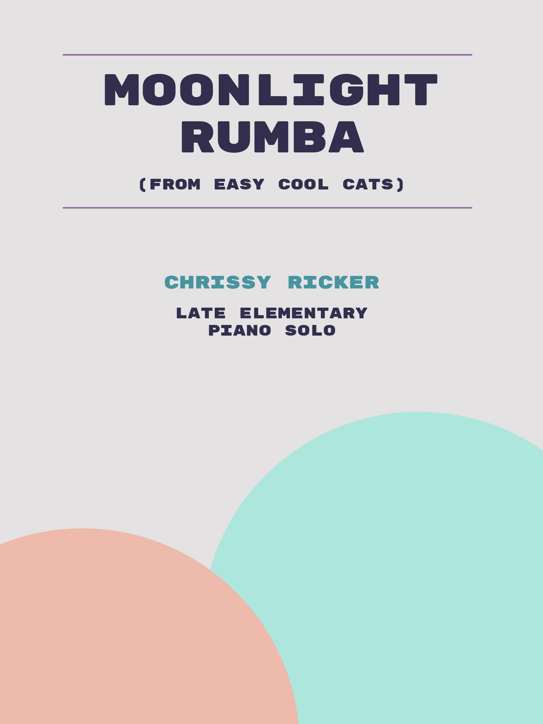 Moonlight Rumba by Chrissy Ricker