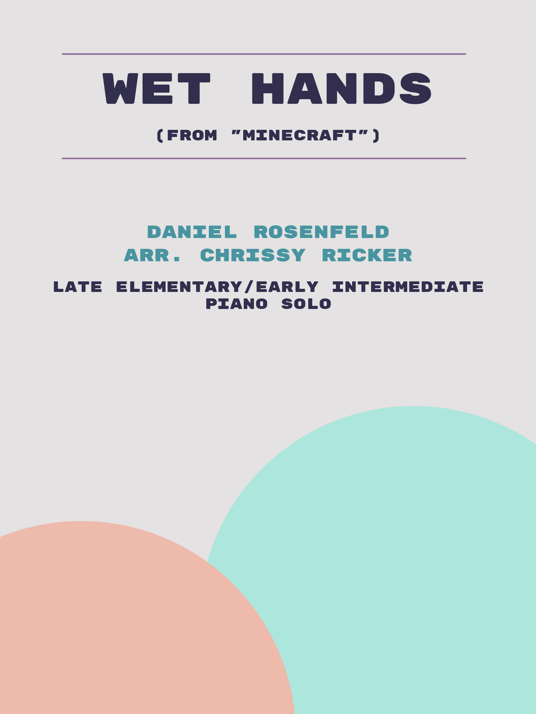 Wet Hands by Daniel Rosenfeld