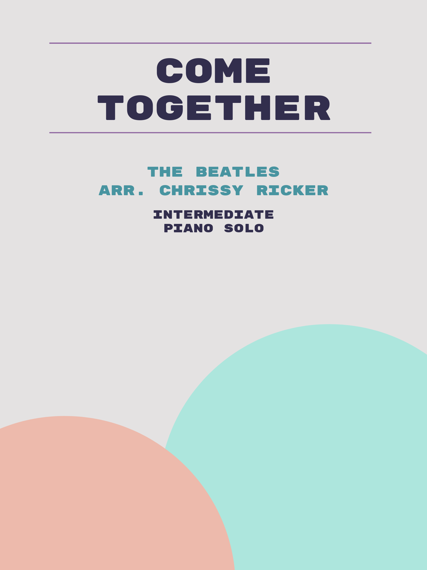 Come Together by The Beatles