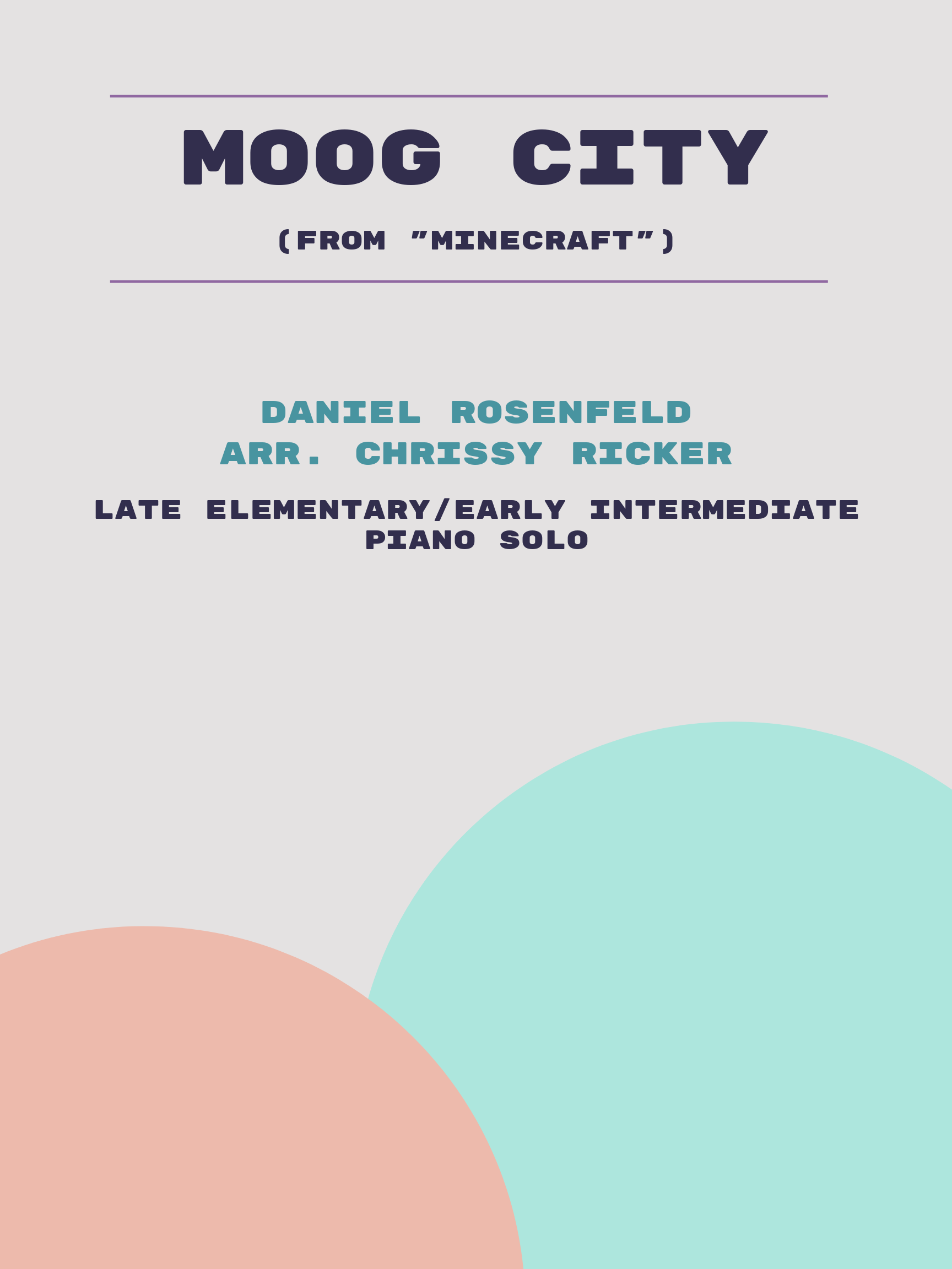 Moog City Sample Page