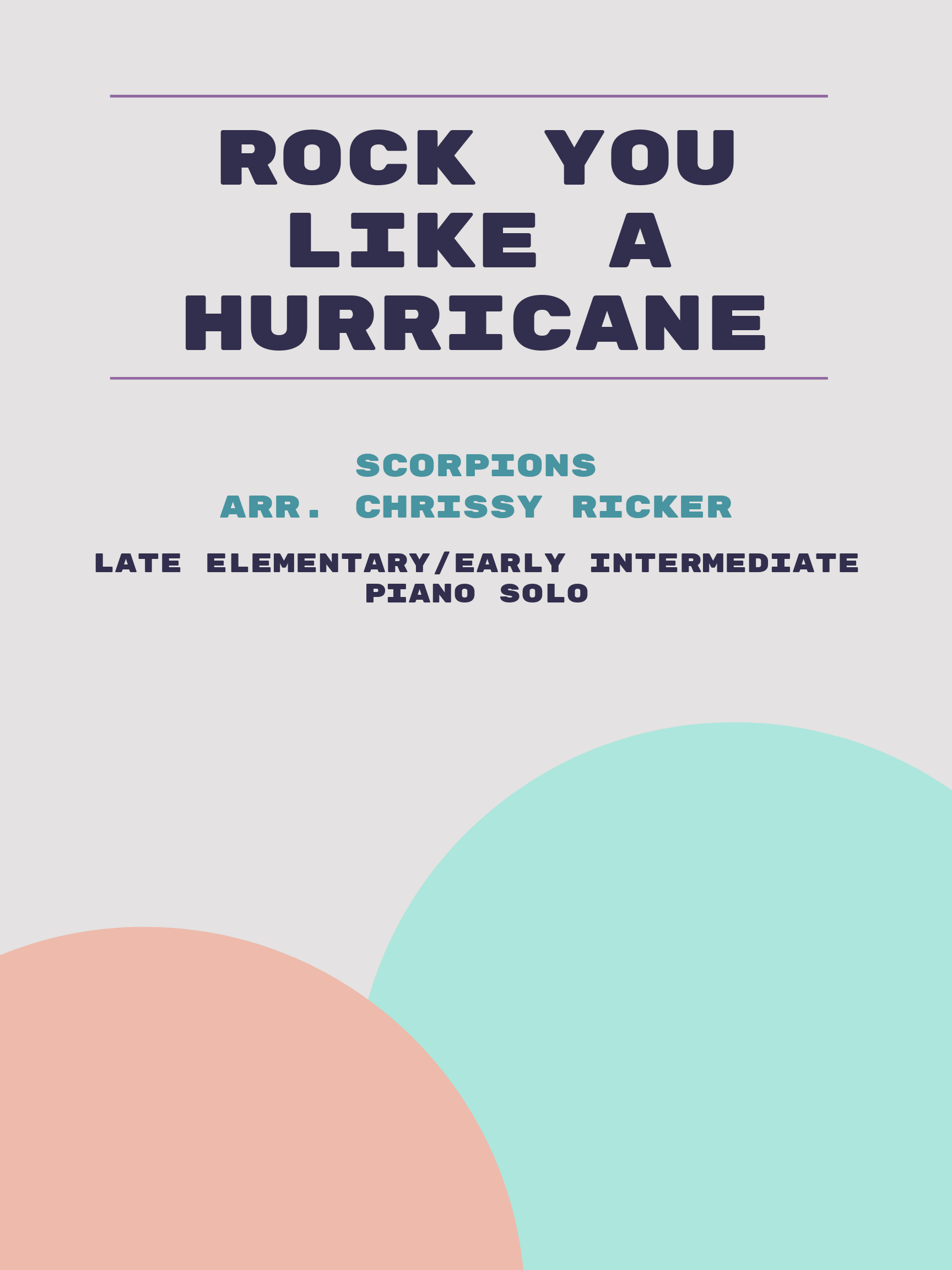 Rock You Like a Hurricane by Scorpions