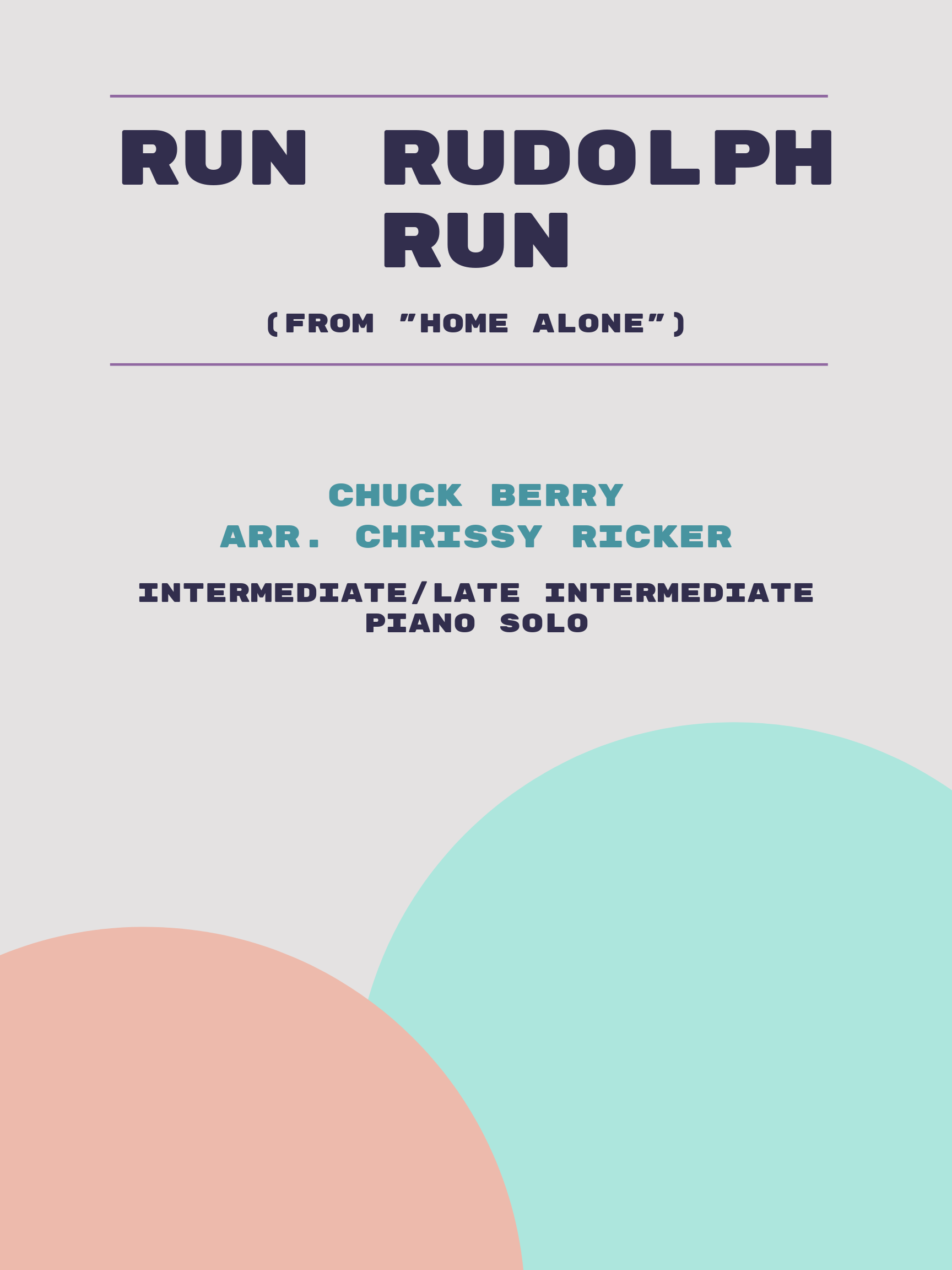 Run Rudolph Run by Chuck Berry