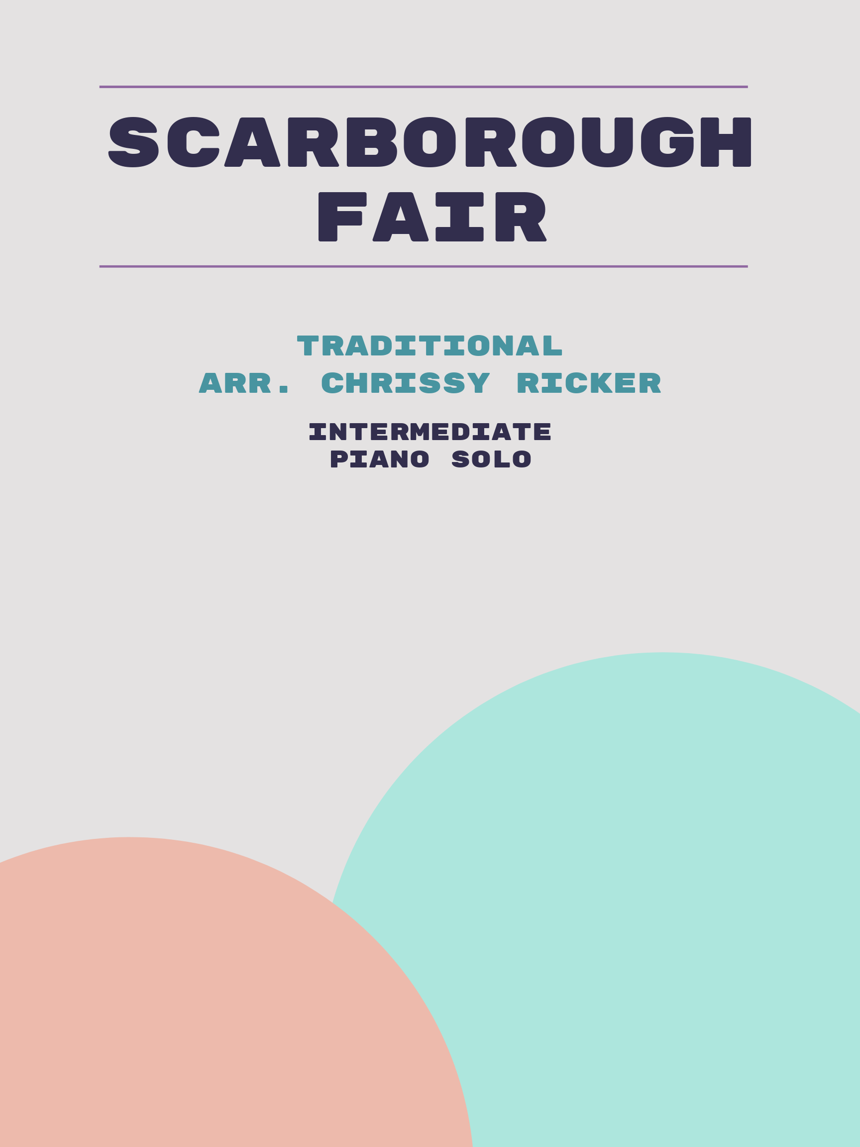 Scarborough Fair by Traditional