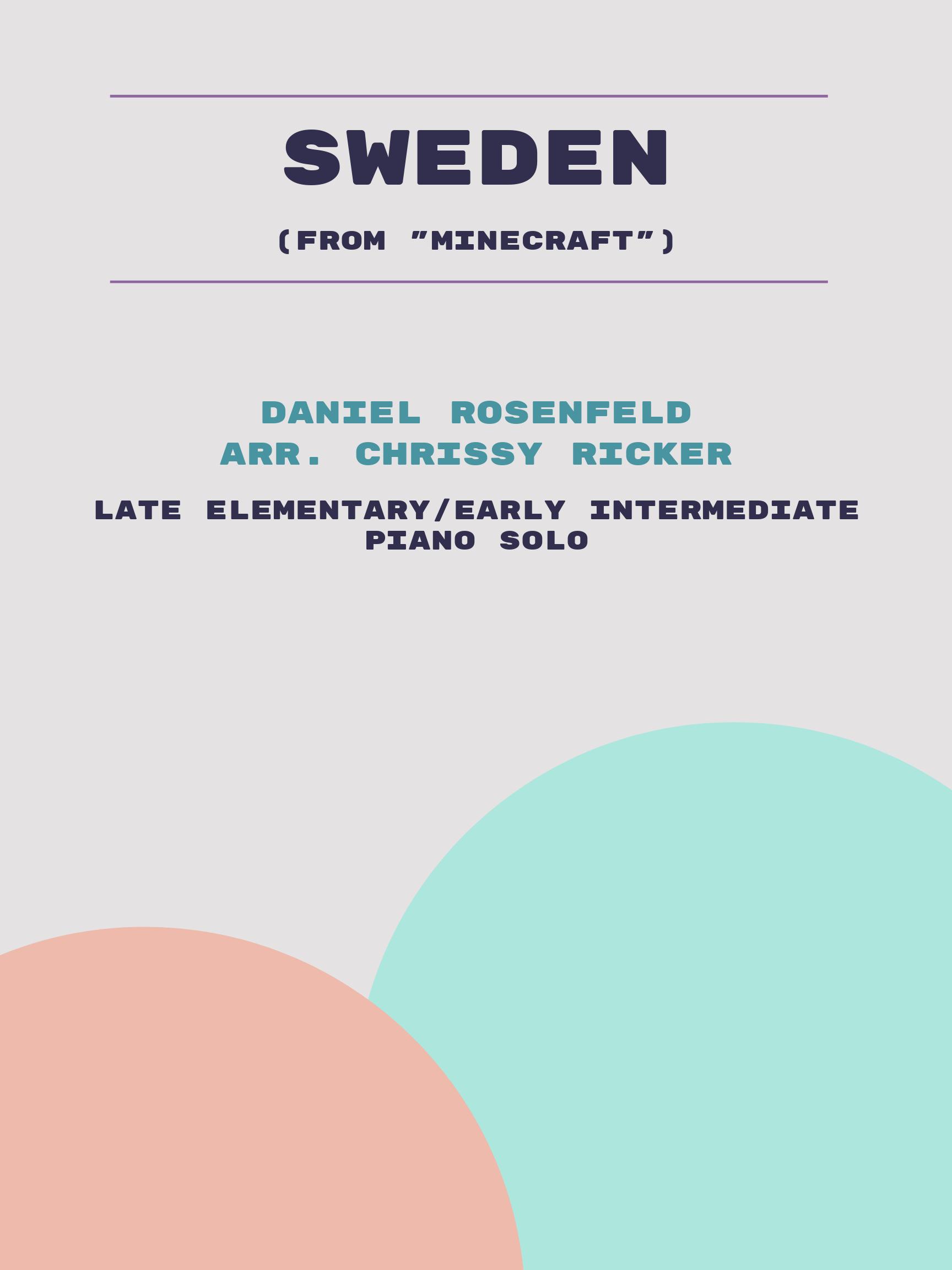 Sweden by Daniel Rosenfeld