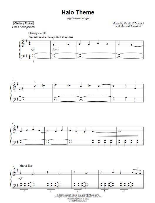 Halo Theme Sample Page