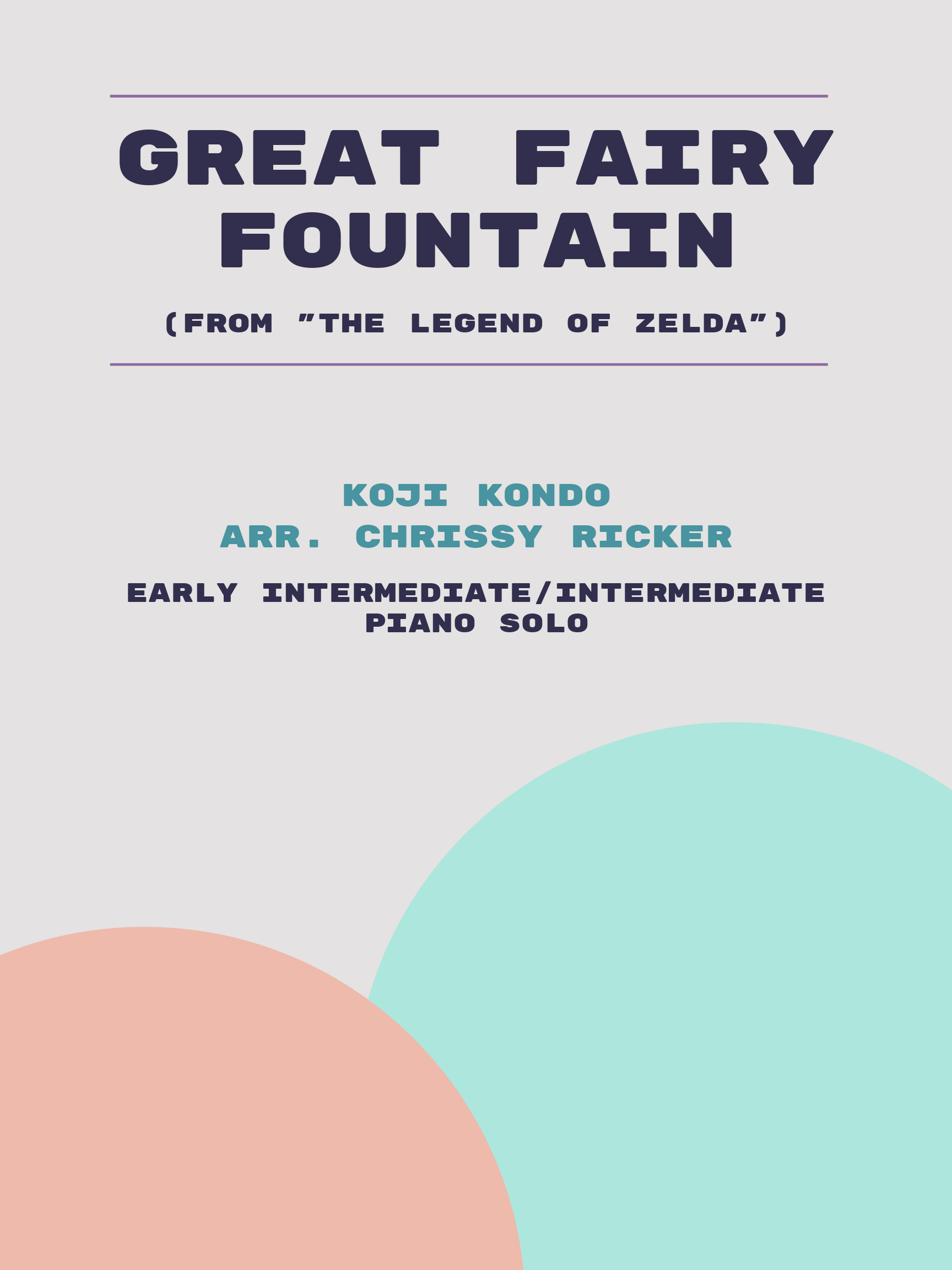 Great Fairy Fountain by Koji Kondo