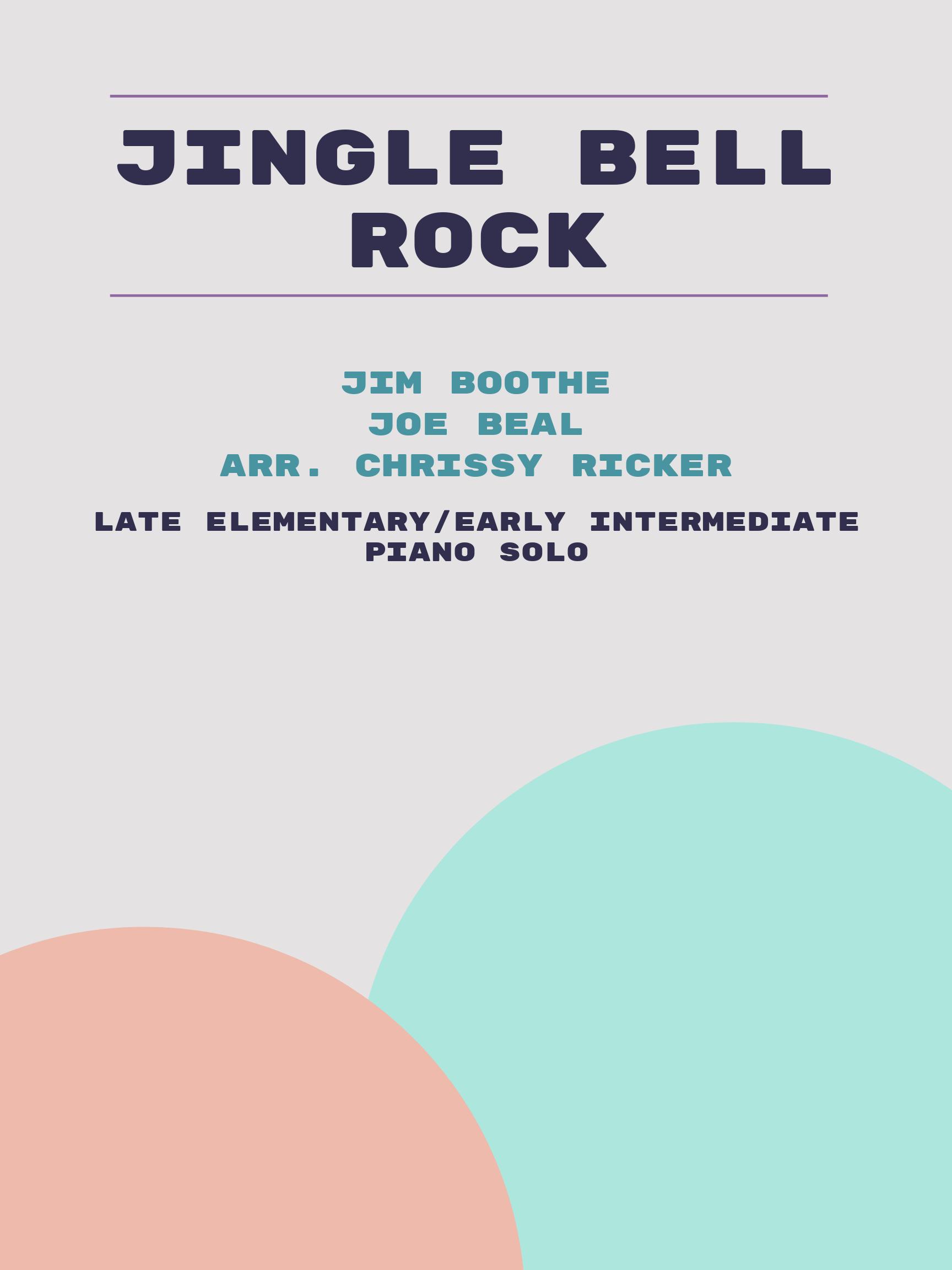 Jingle Bell Rock by Jim Boothe, Joe Beal