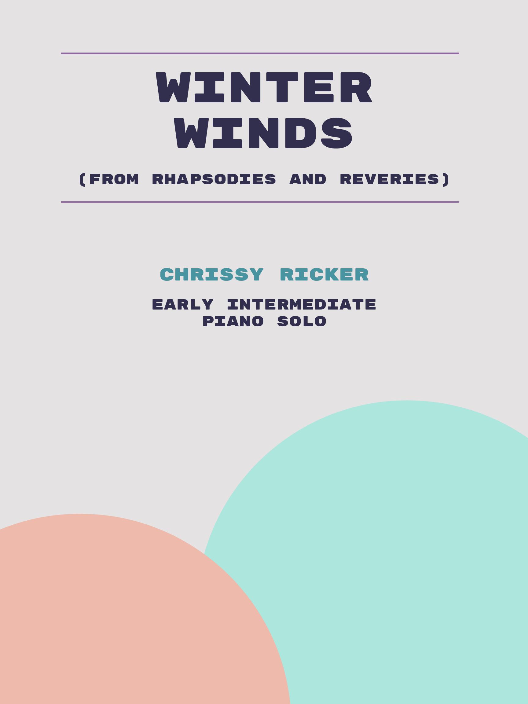 Winter Winds by Chrissy Ricker