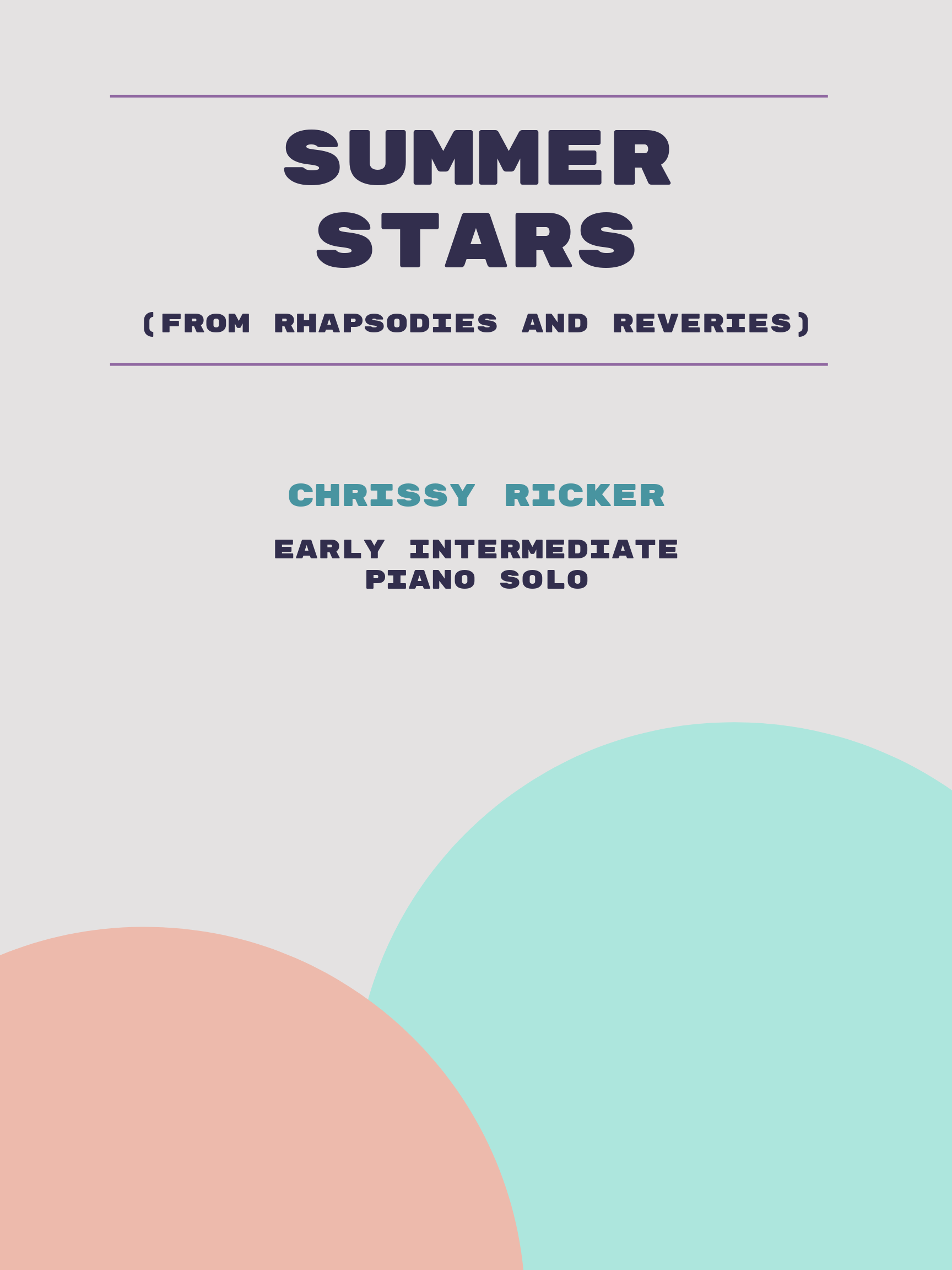 Summer Stars by Chrissy Ricker