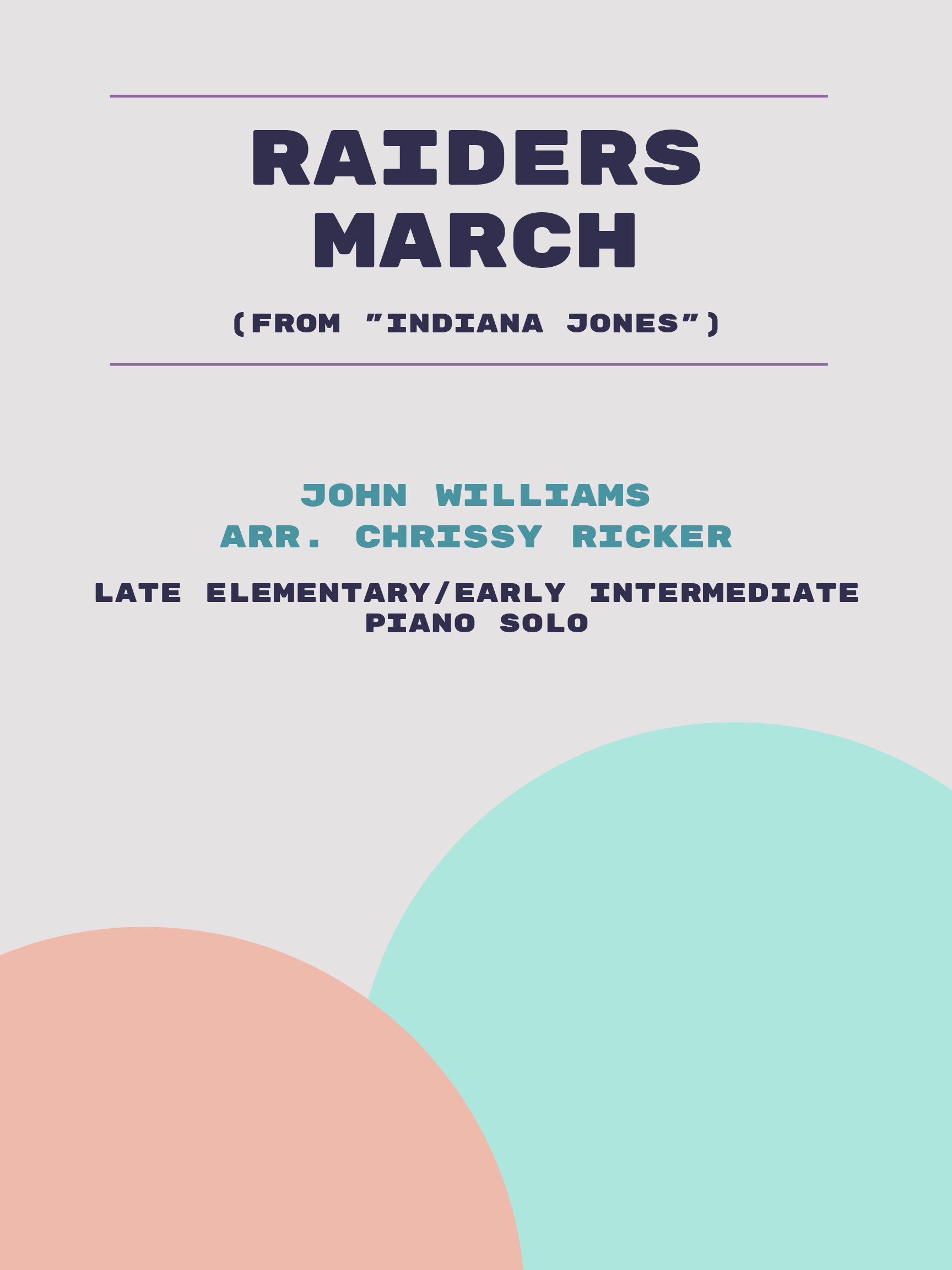 Raiders March by John Williams