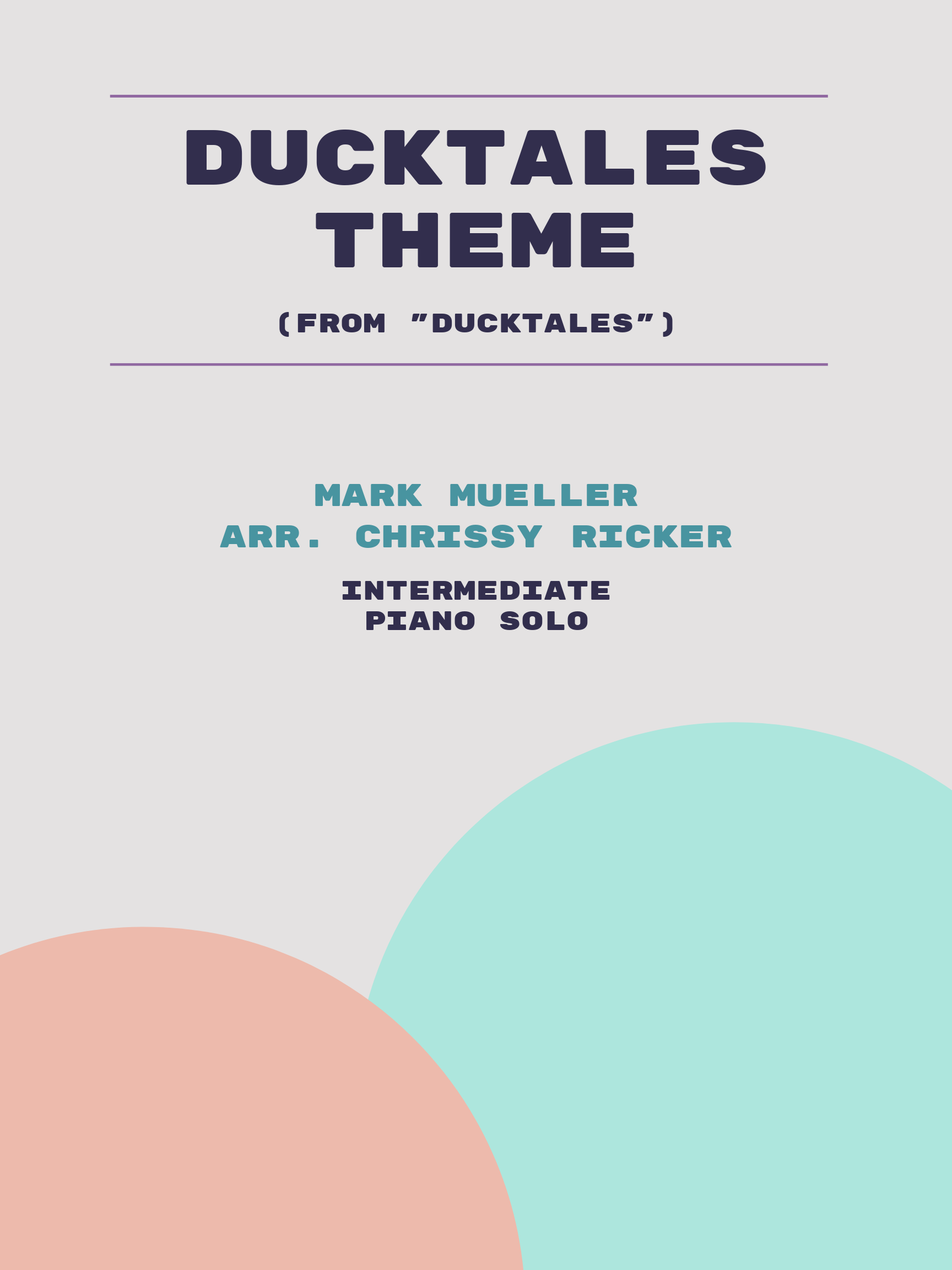 DuckTales Theme by Mark Mueller