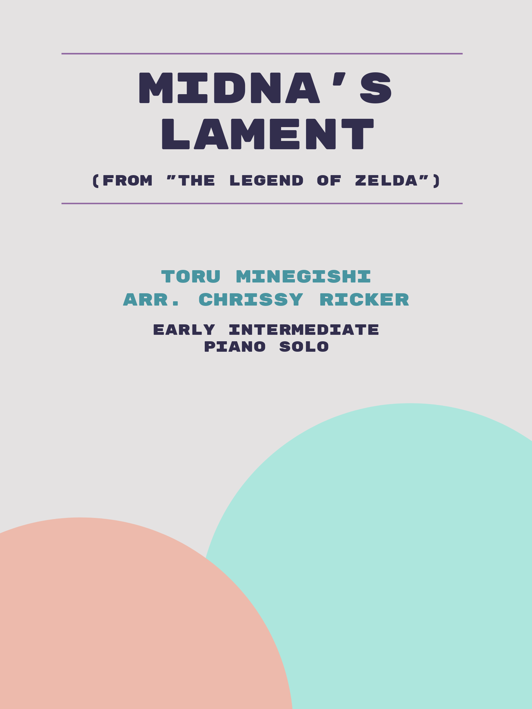 Midna's Lament Sample Page