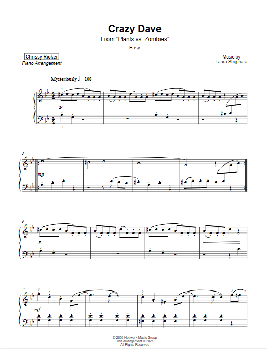 Crazy Dave Sample Page